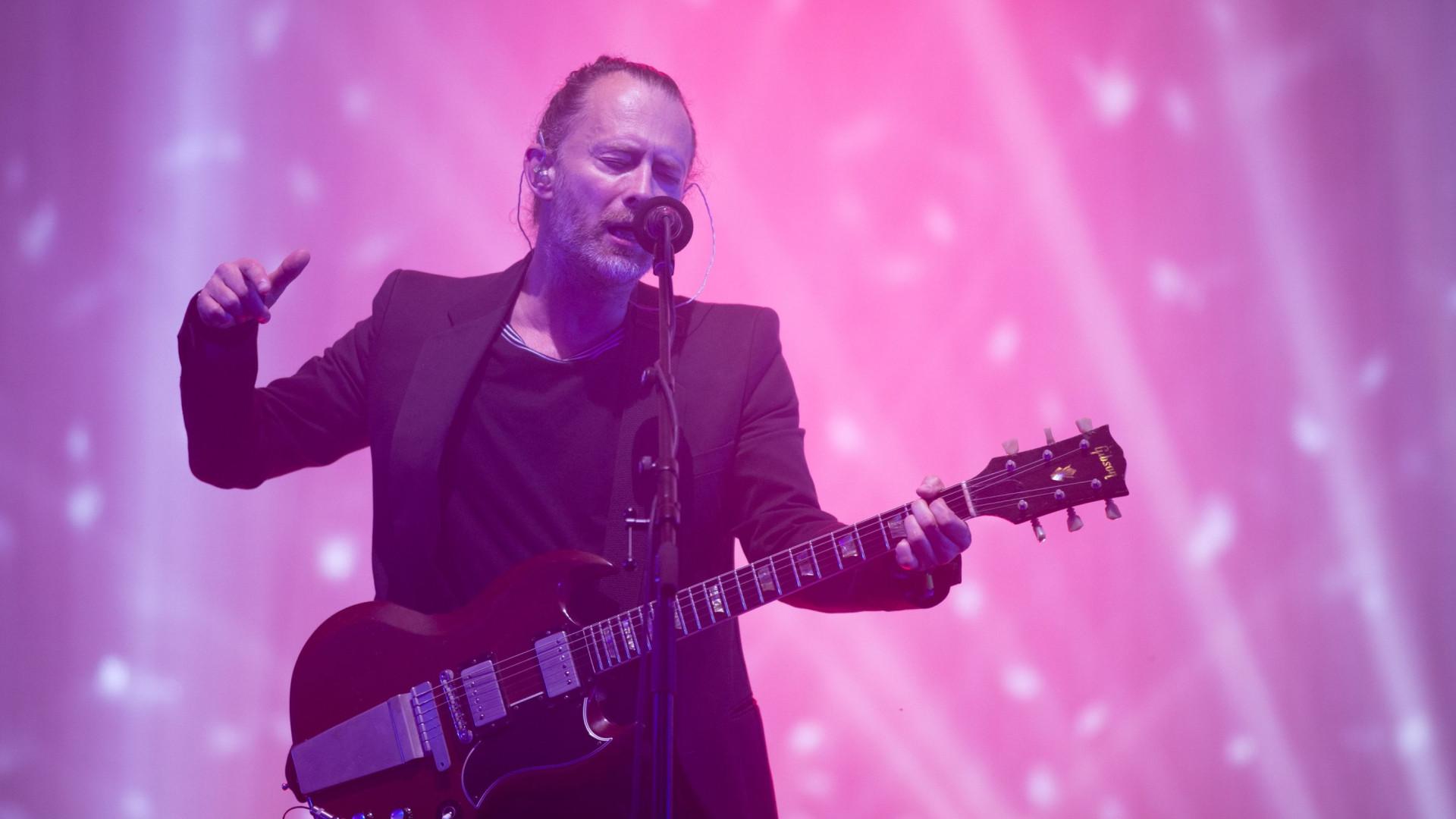 Thom Yorke estreia-se a solo em Portugal no NOS Alive'19