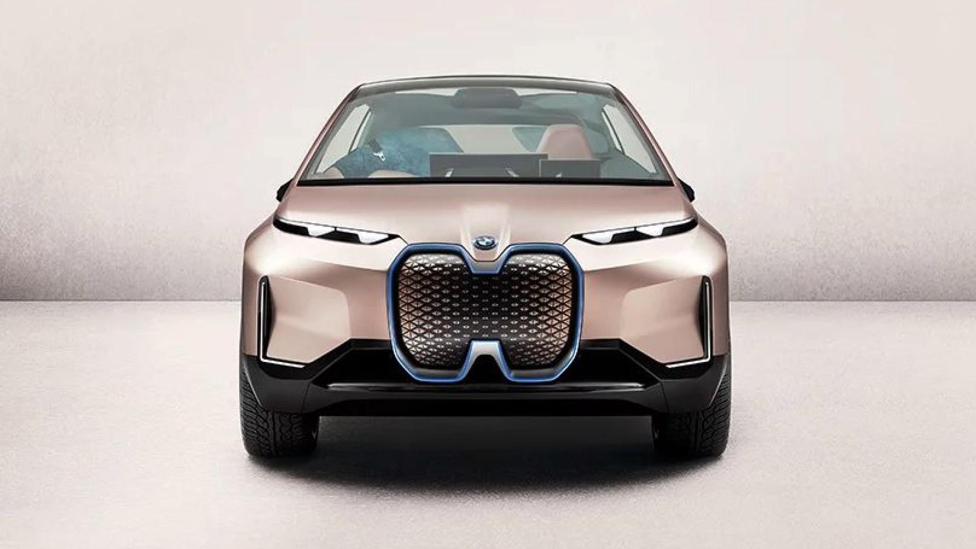 BMW partilha novas imagens do seu futurista iNEXT