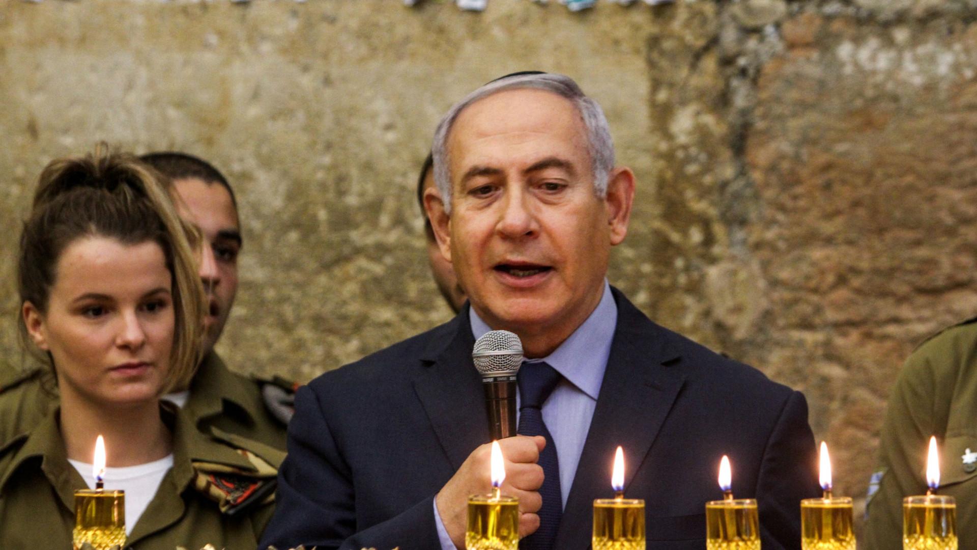 "Netanyahu saúda ""larga maioria"" na ONU contra o Hamas palestiniano"