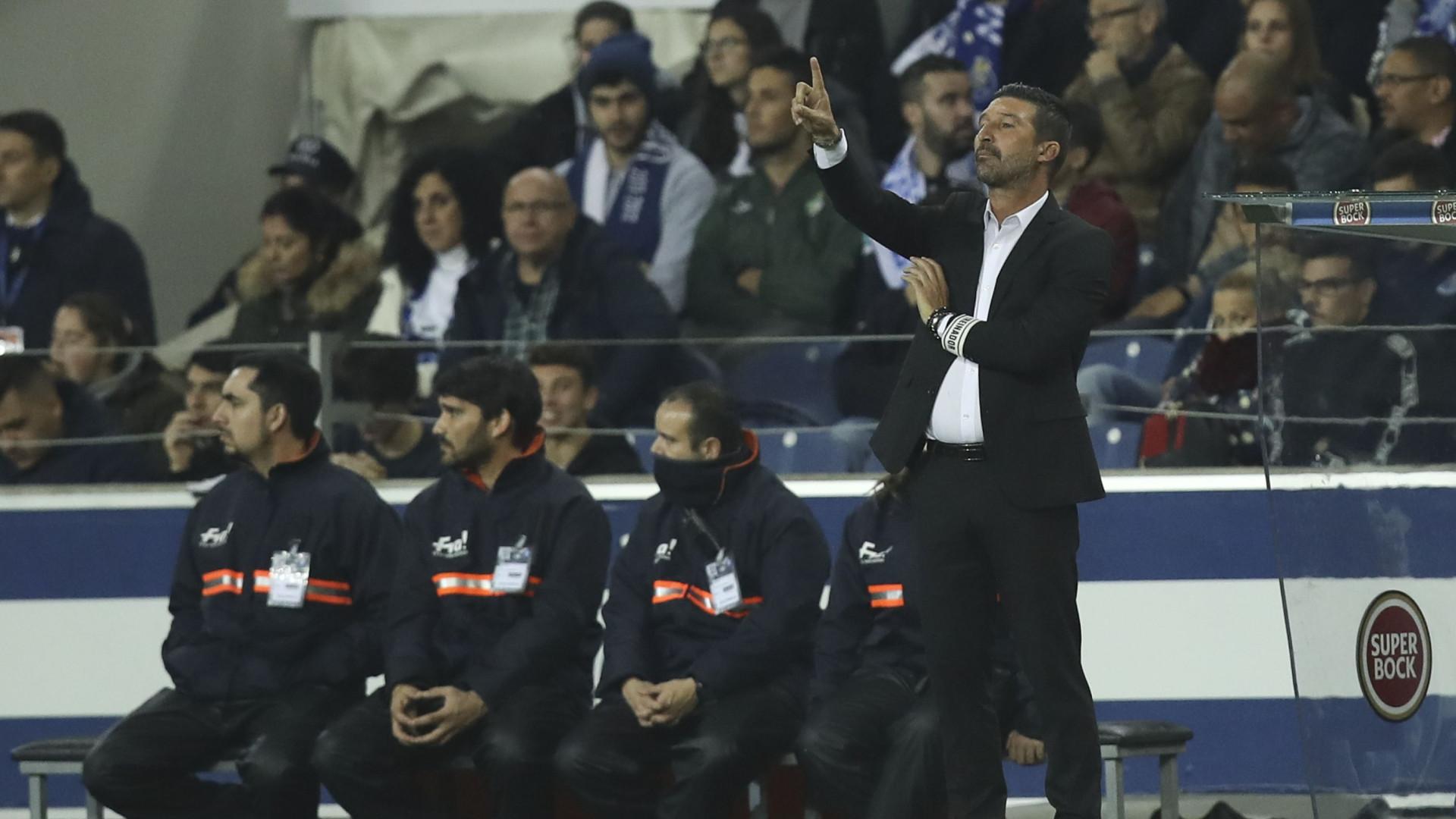 Treinador do Portimonense resignado com derrota diante do FC Porto. 562272a58adfd