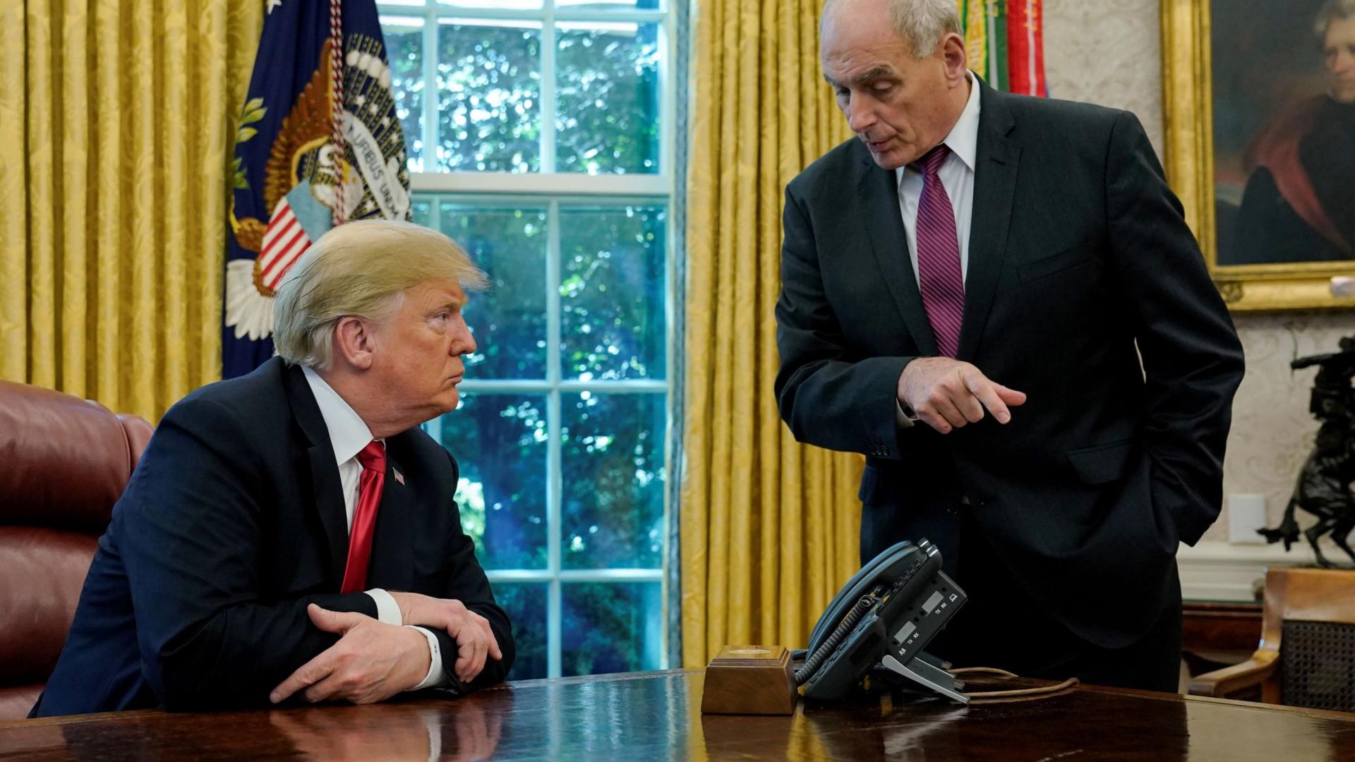Donald Trump anuncia saída do seu chefe de gabinete