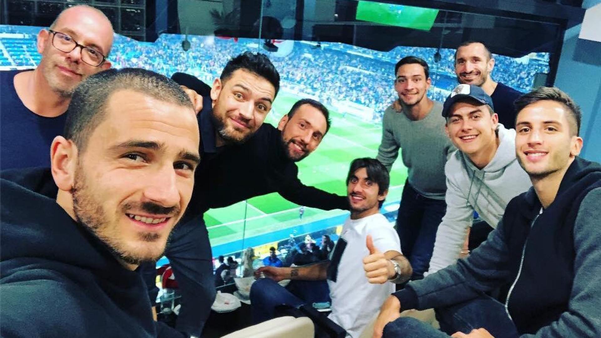 Juventus em peso no Bernabéu, mas Ronaldo ficou em Turim