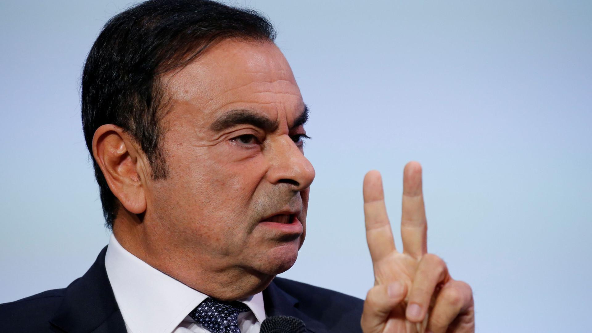 Ministério Público acusa ex-presidente da Nissan de ocultar rendimentos