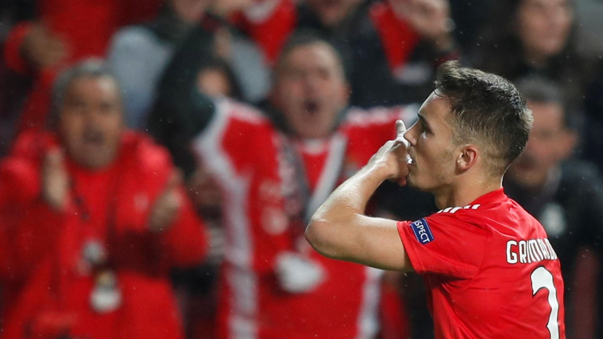 SOS Grimaldo! Espanhol socorreu a honra do Benfica no adeus à Champions