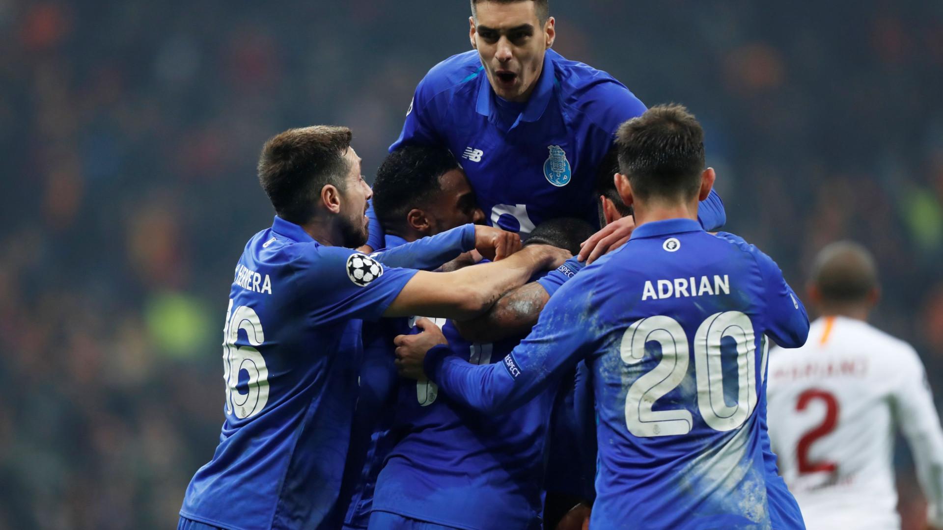 Ninguém pontuou tanto nesta edição da Champions como o FC Porto