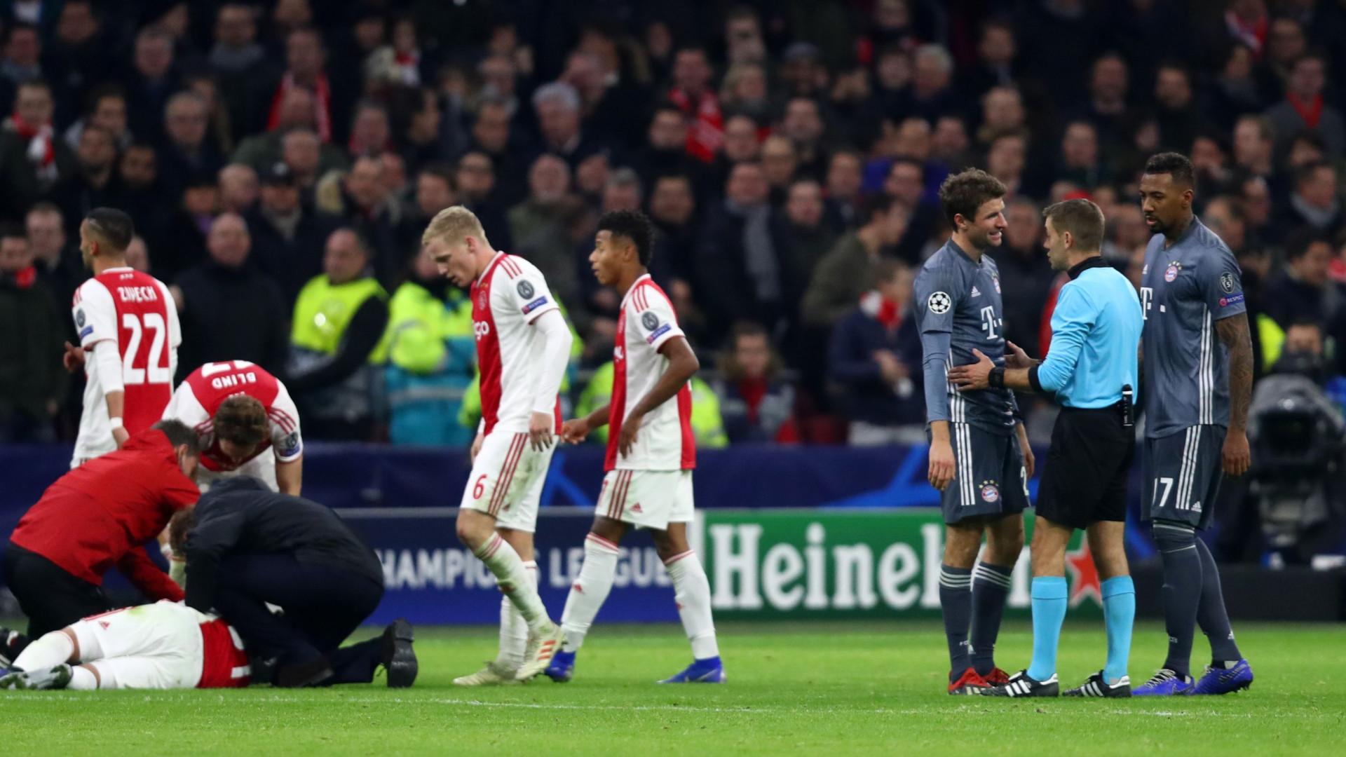 Lembra-se do golpe de karaté de Muller? UEFA aplica castigo de dois jogos