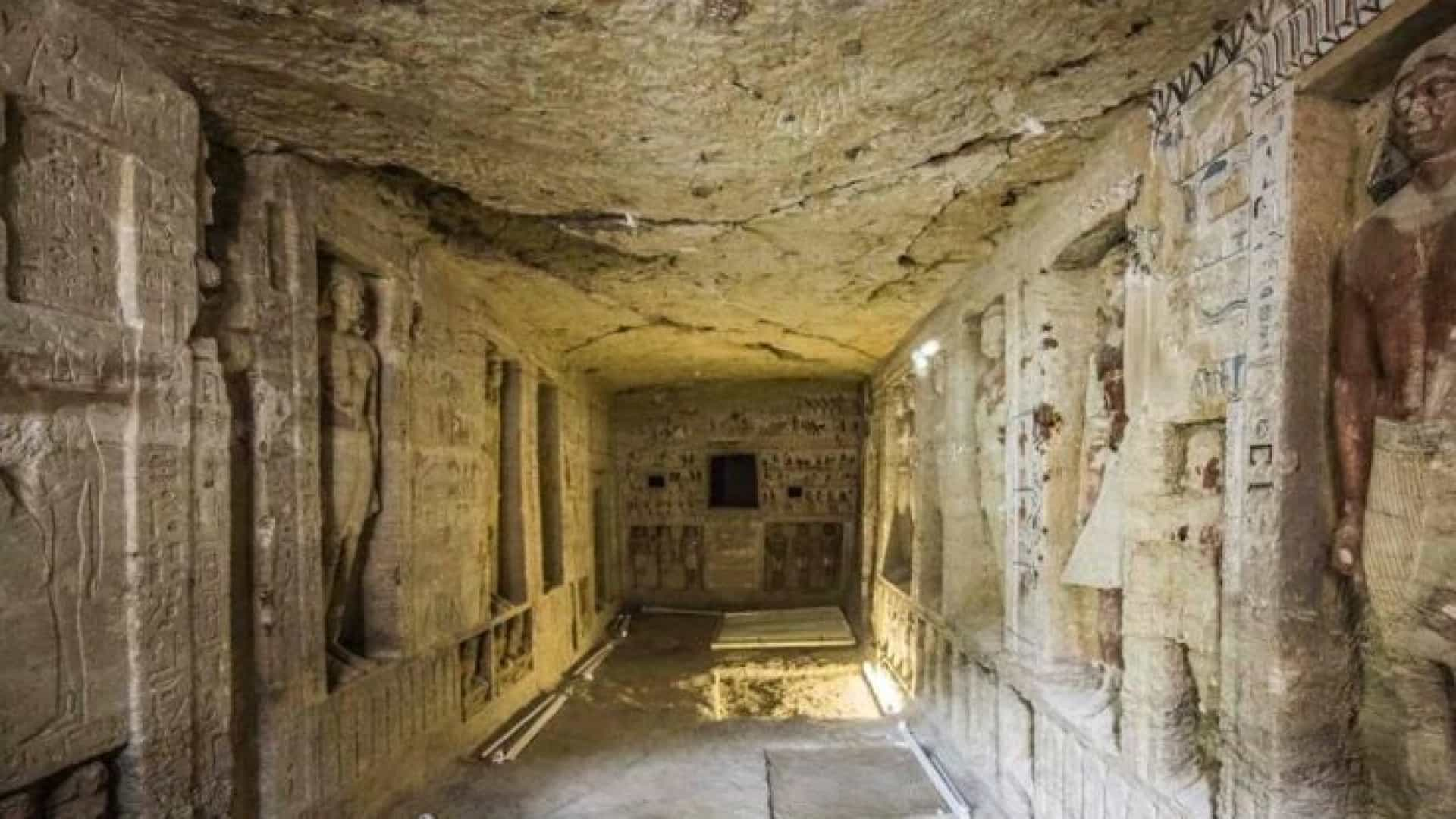 Túmulo de 4.400 anos descoberto no Egito