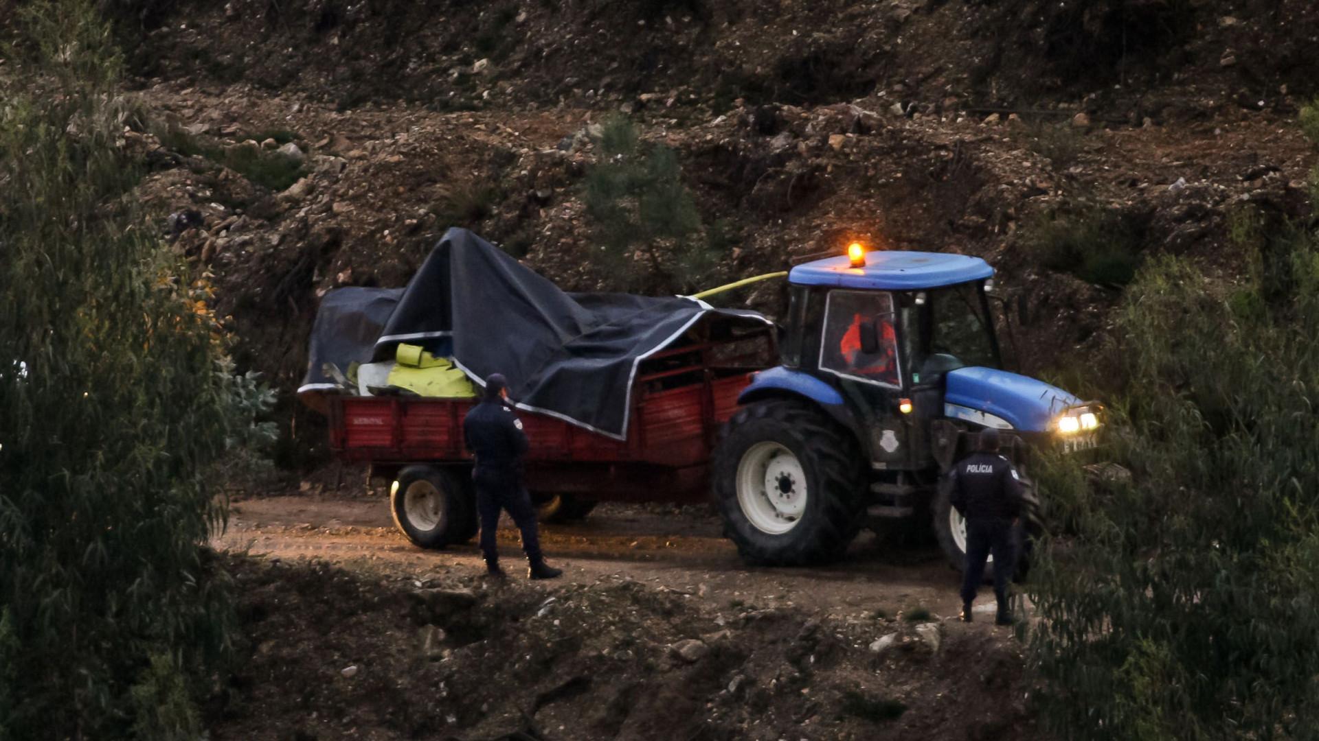 A tragédia da queda do helicóptero do INEM em imagens