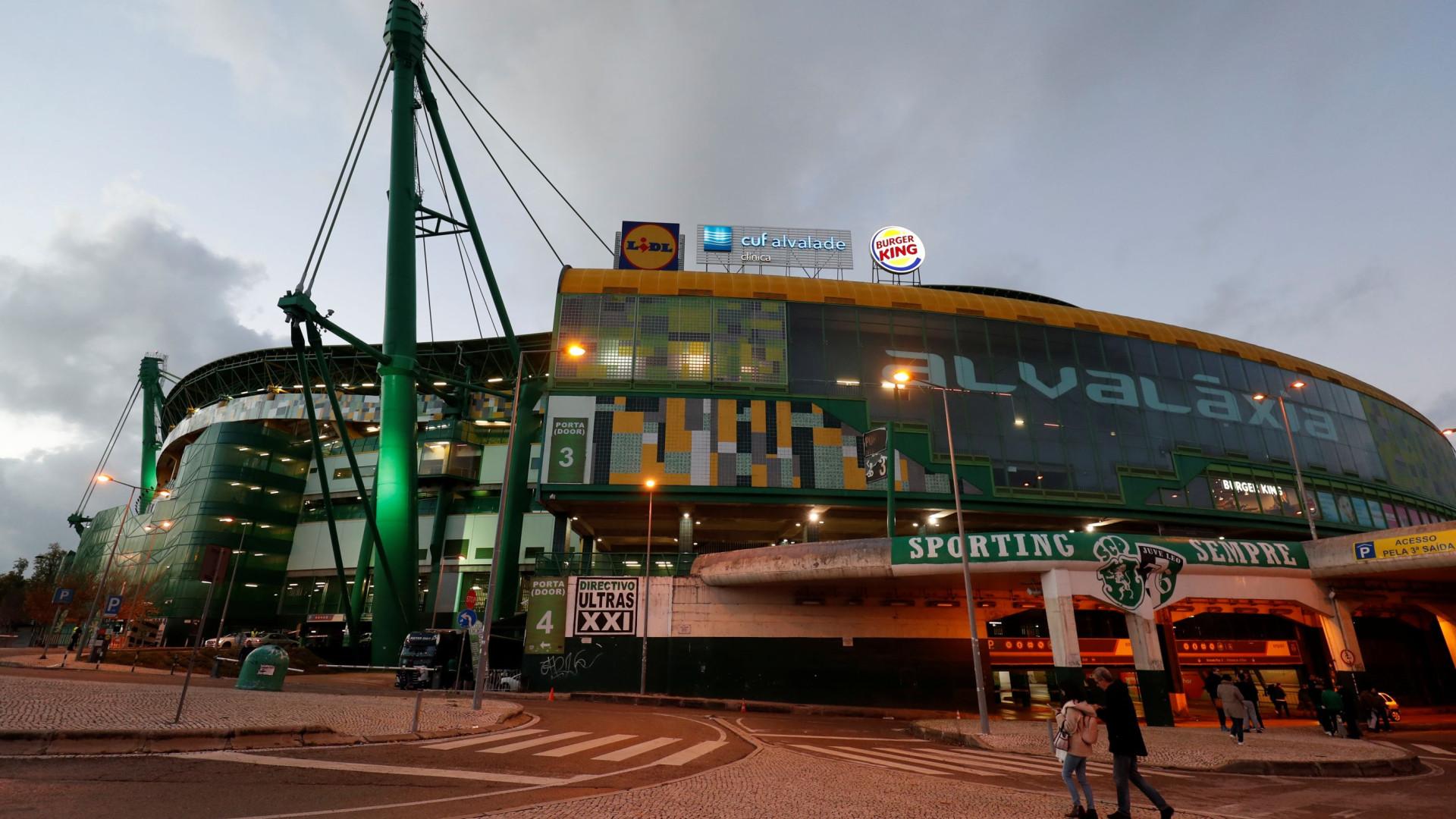 Sporting diz que demora na justiça beneficia Benfica no apoio às claques