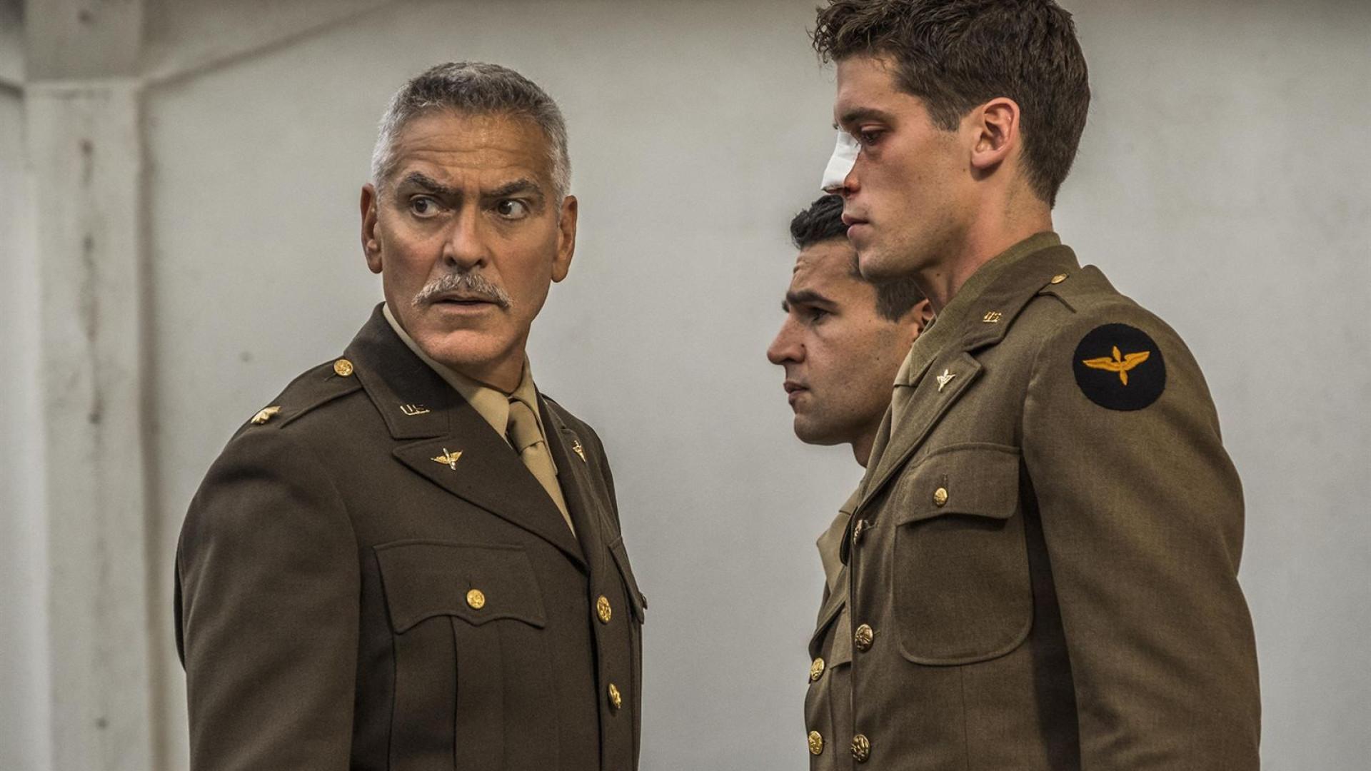 Eis as primeiras imagens que marcam o regresso de Clooney à televisão