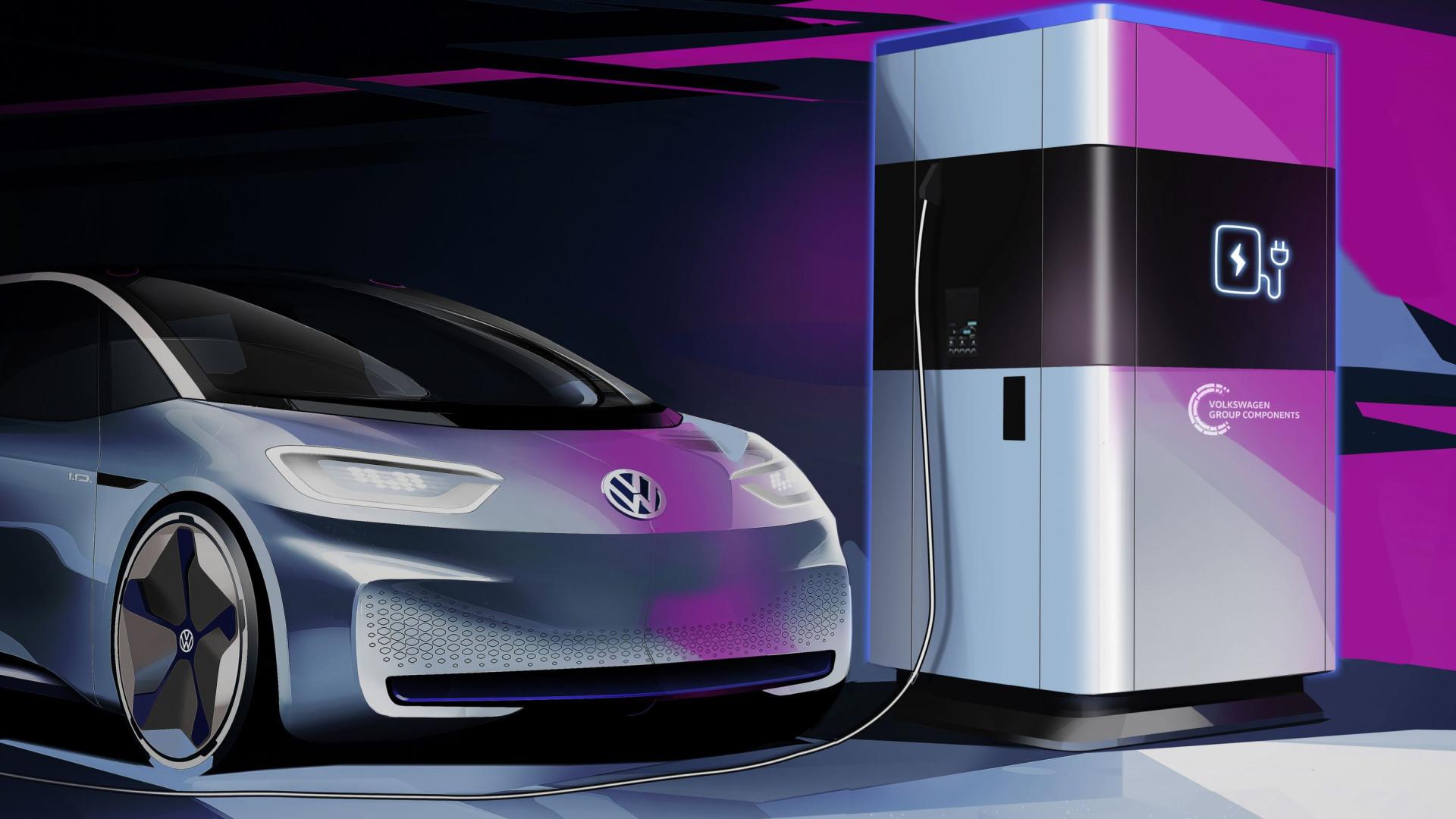 A Volkswagen pode ter solucionado o maior problema dos carros elétricos
