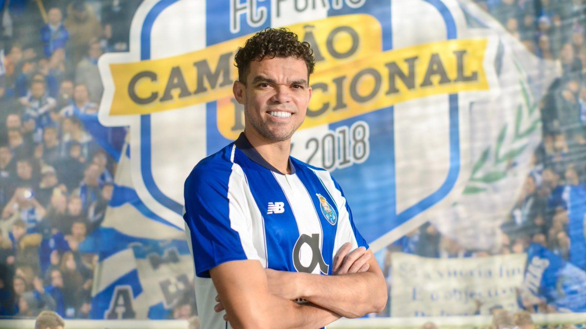 726b99e09f Oficial  Pepe está de regresso ao FC Porto