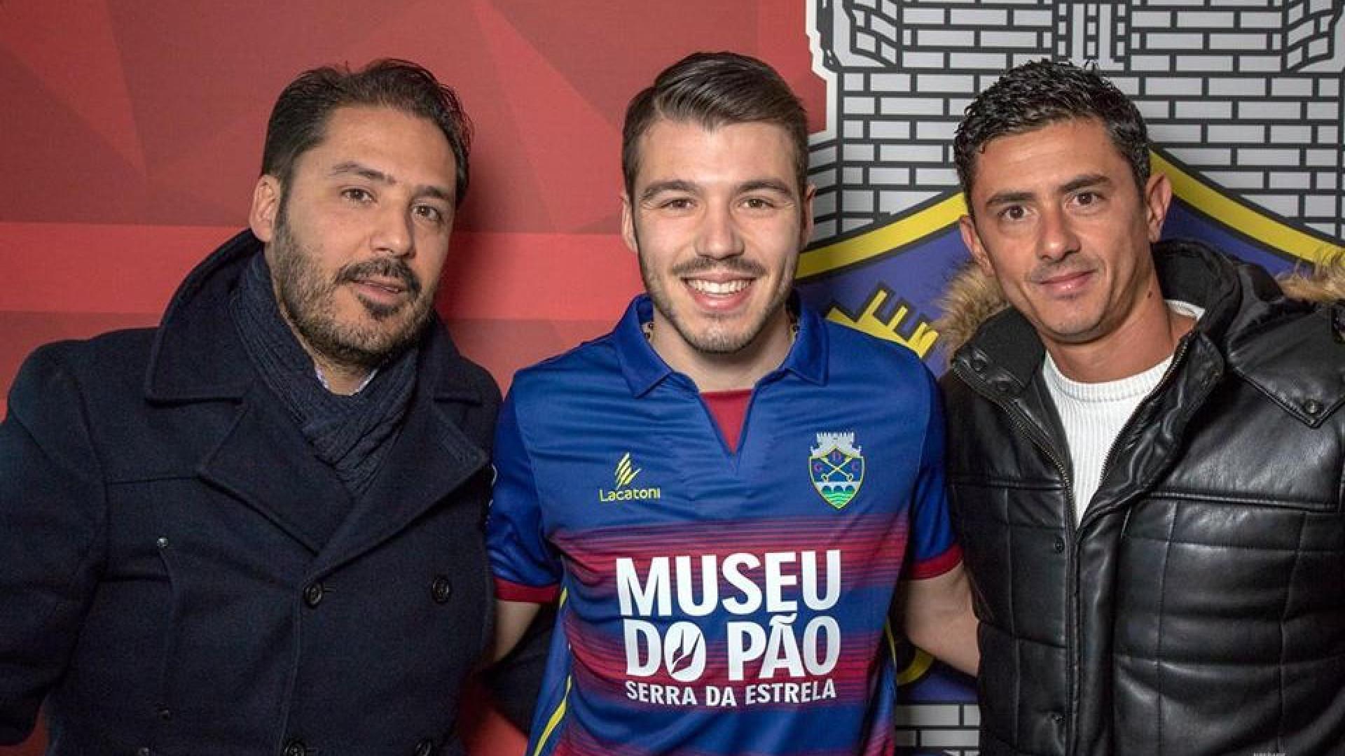 Oficial: Chaves anuncia contratação de filho de Sérgio Conceição