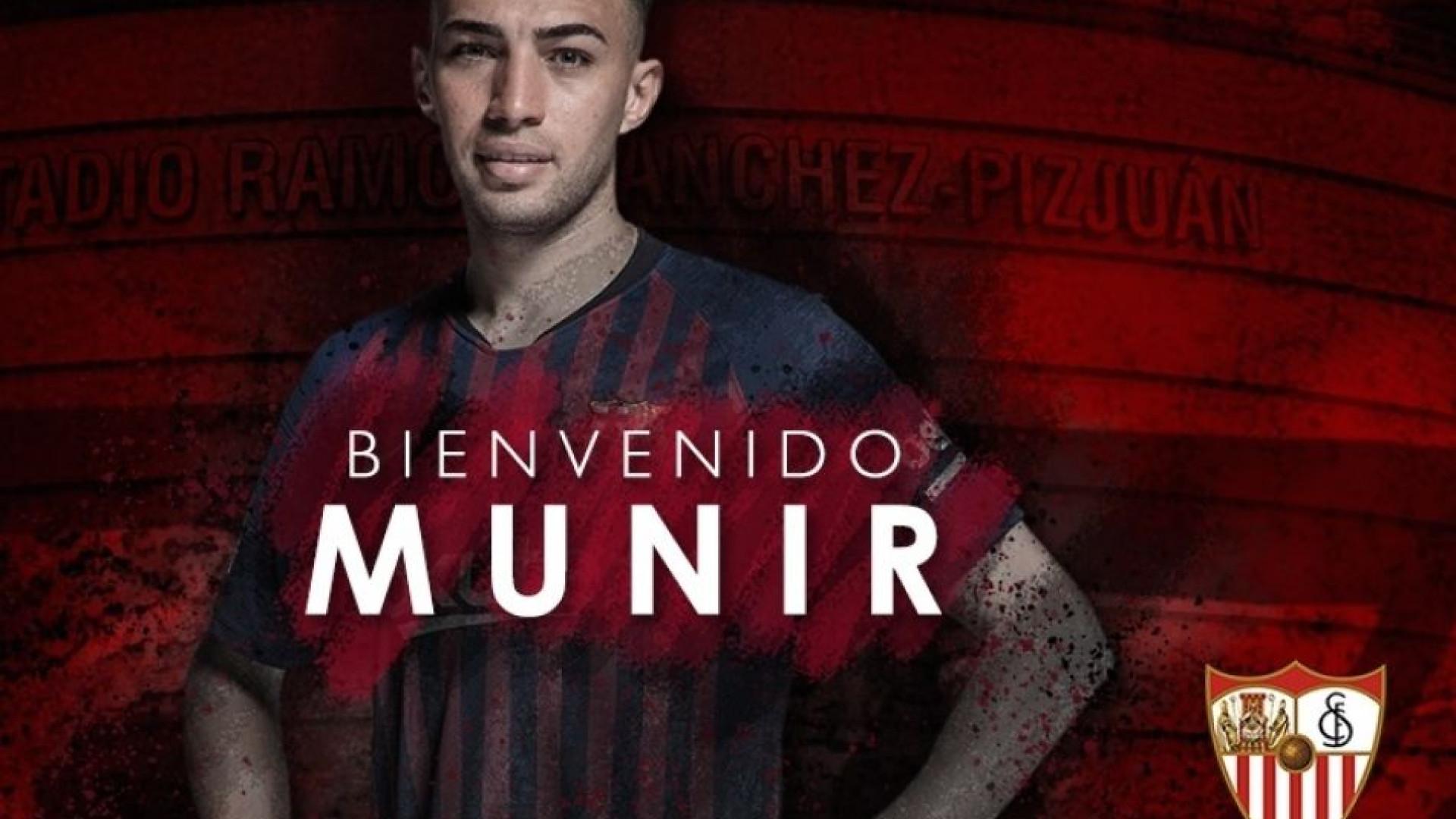Sevilha de Silva e Carriço contrata Munir ao FC Barcelona