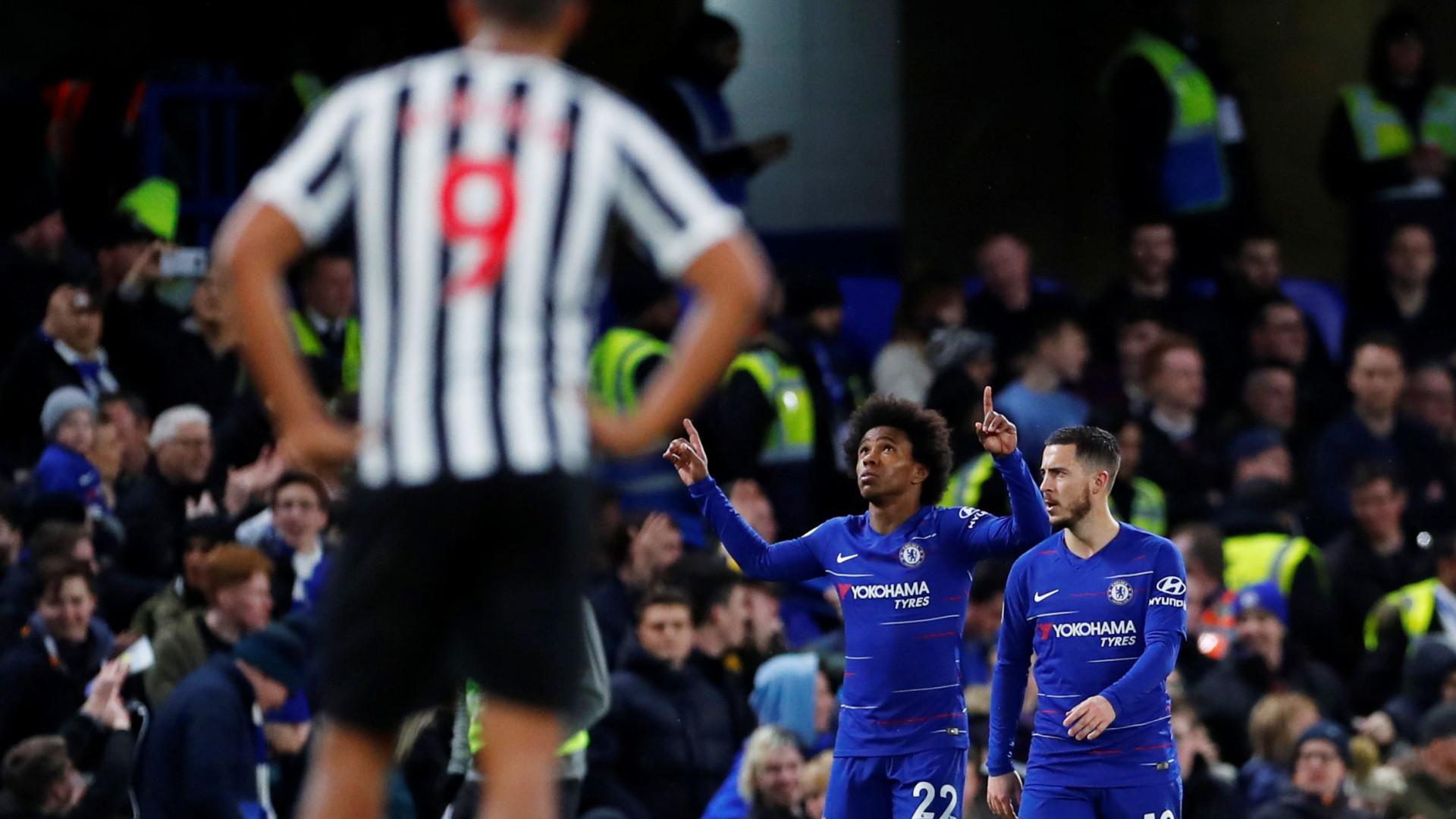 70d54a21ba Chelsea bate Newcastle e consolida quarto lugar em Inglaterra