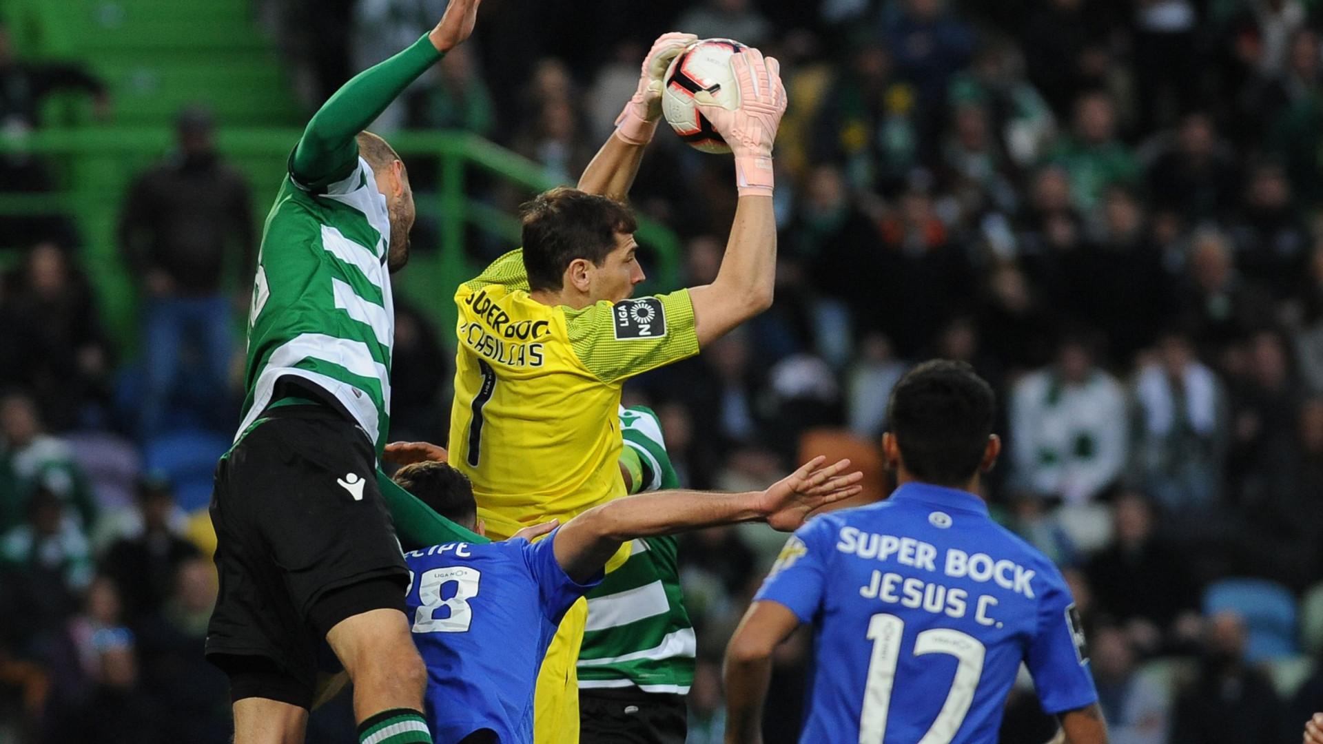 Leões e dragões não foram além de um nulo. FC Porto já não vence em  Alvalade há 14 jogos fd5a410ece4e9