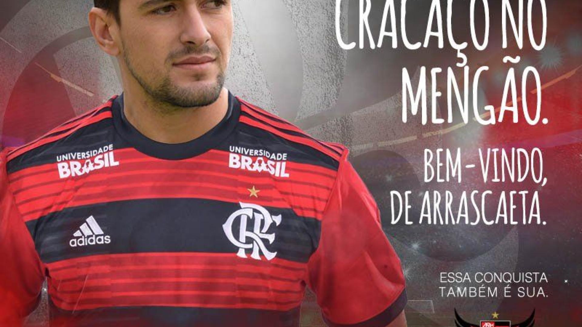 Brasileirão: Arrascaeta bate recorde milionário de transferências