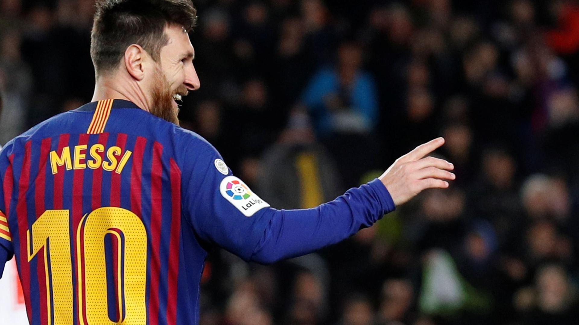 Foi este o golo que ofereceu um recorde histórico a Messi