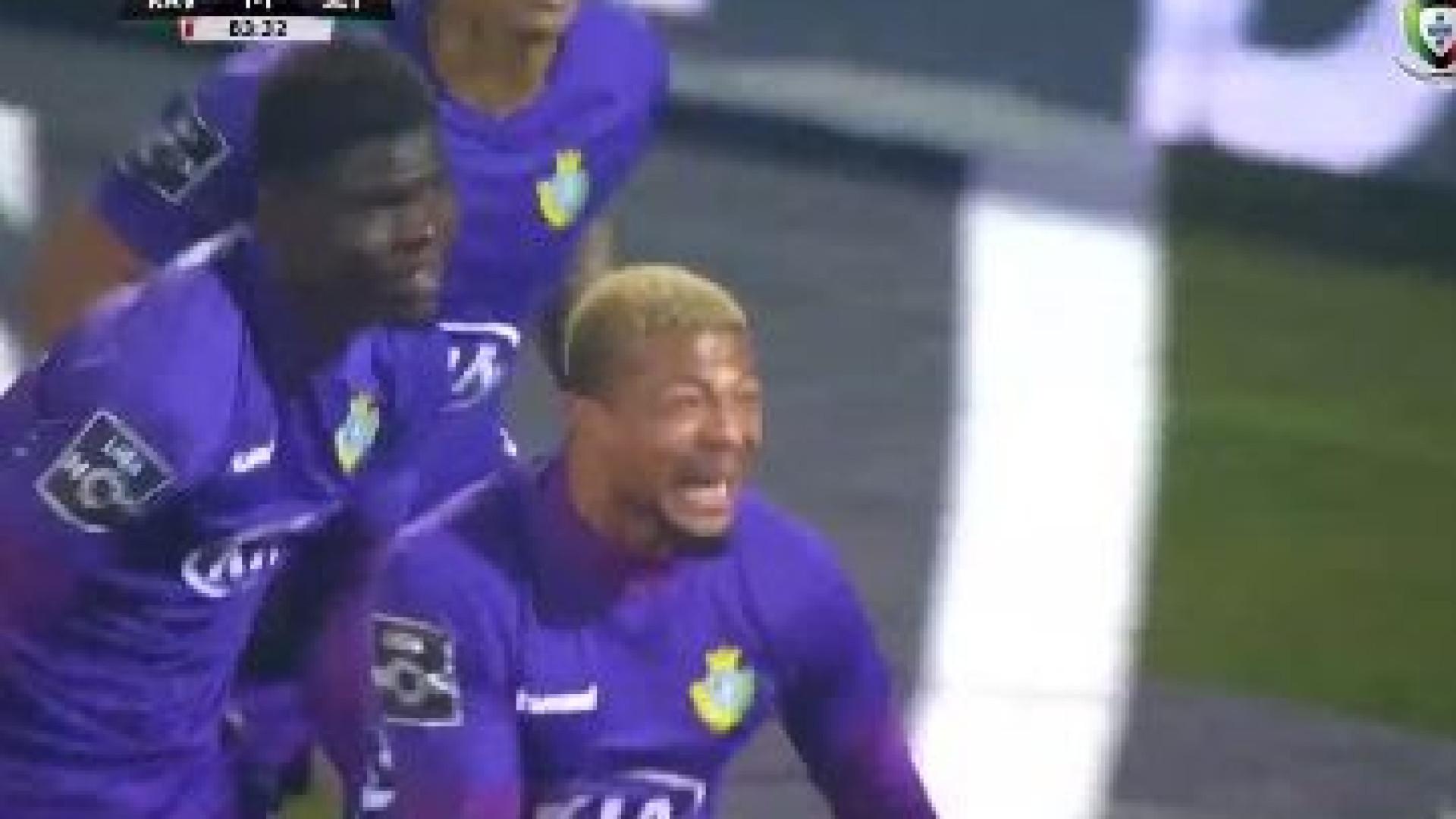 Erro incrível de Buatu resulta no golo do V. Setúbal em Vila do Conde