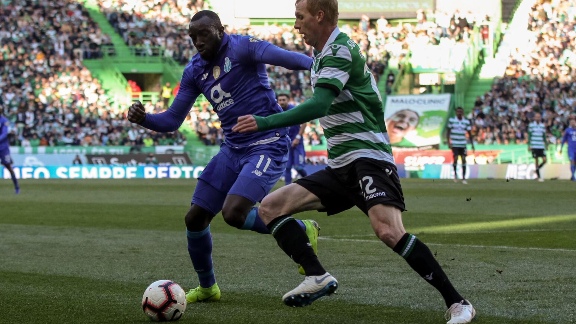 Sporting desembolsa um milhão de euros para renovar com Mathieu