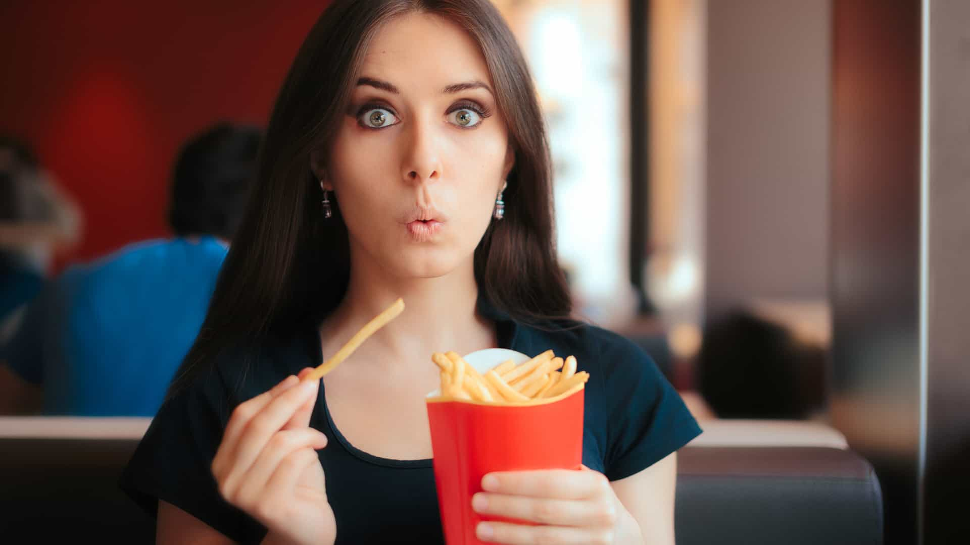 É viciado em batatas fritas? Diga não à tentação... assim