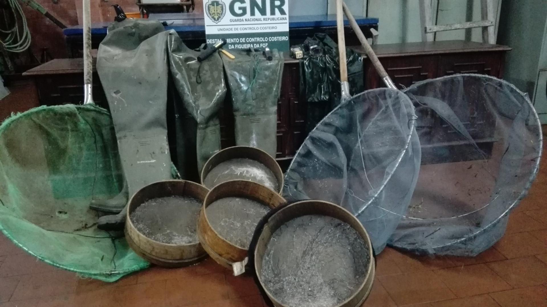 Quatro quilos de meixão apreendidos em Estarreja