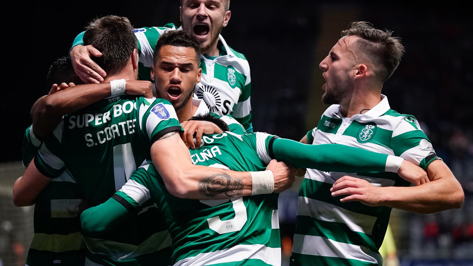 VAR, dramatismo e penáltis. Sporting está na final da Taça da Liga