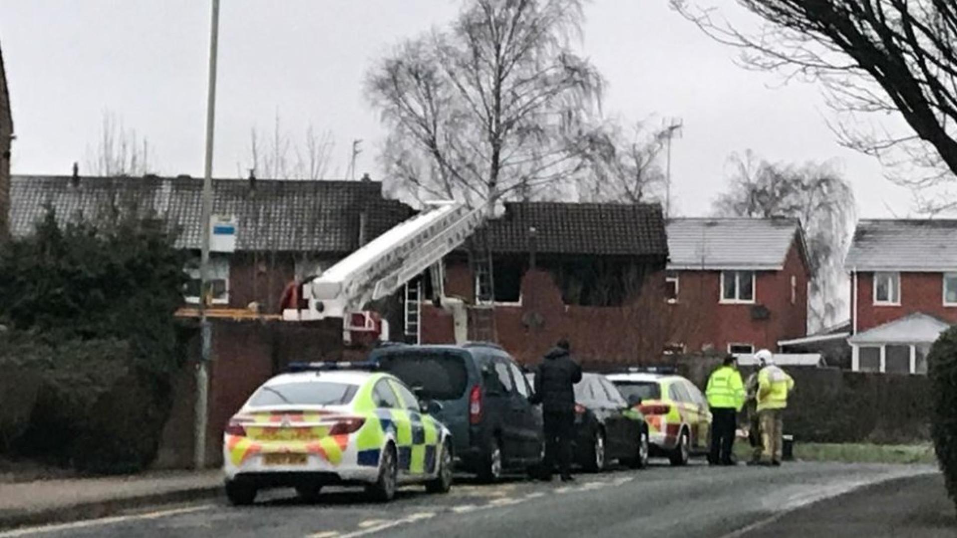Quatro crianças morreram em incêndio doméstico em Inglaterra