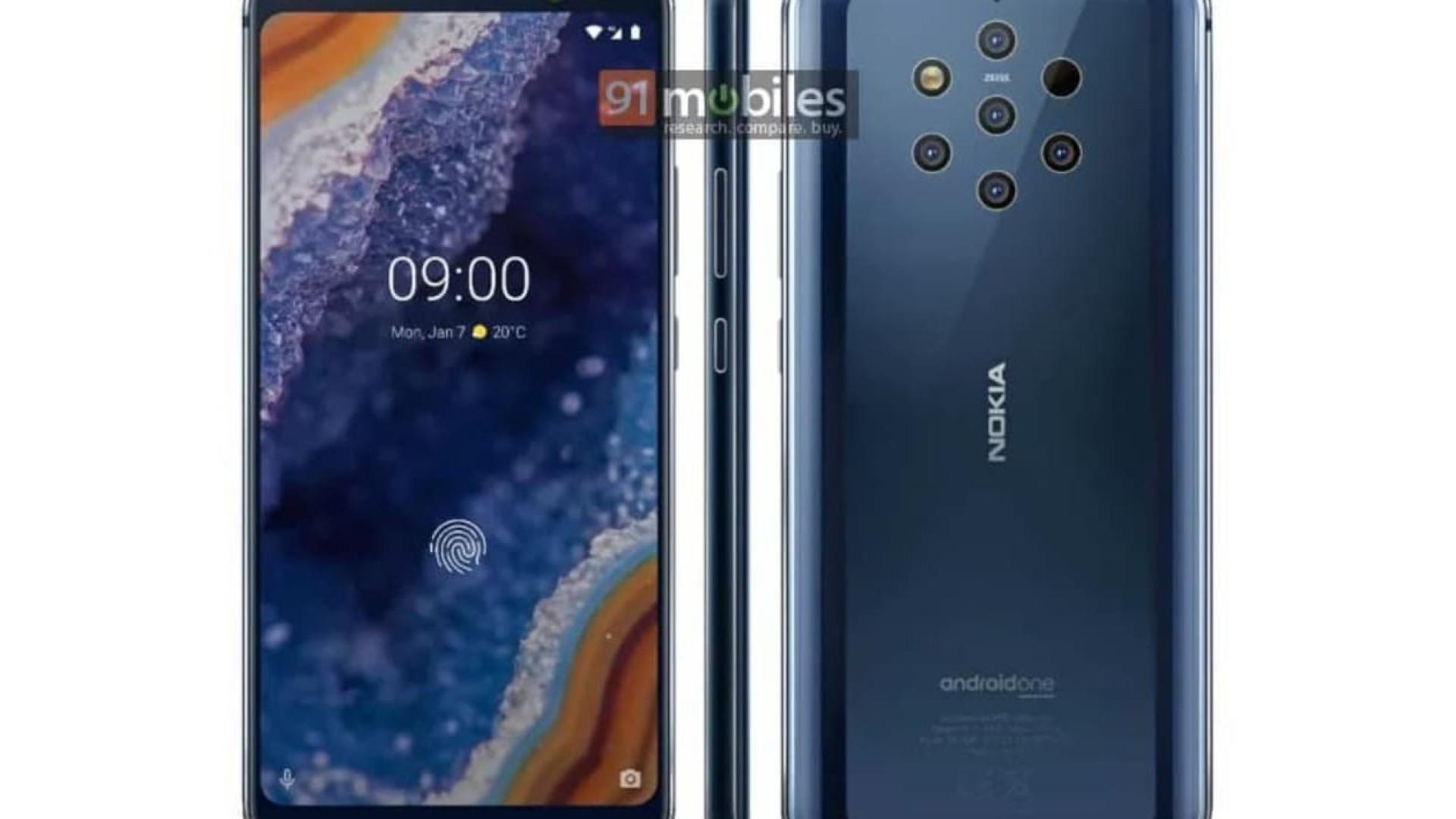 Eis o novo smartphone da Nokia com câmara de cinco sensores