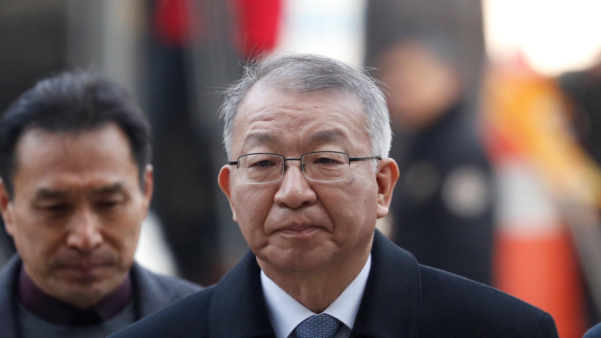 Ministério Público da Coreia do Sul acusa ex-presidente do Supremo