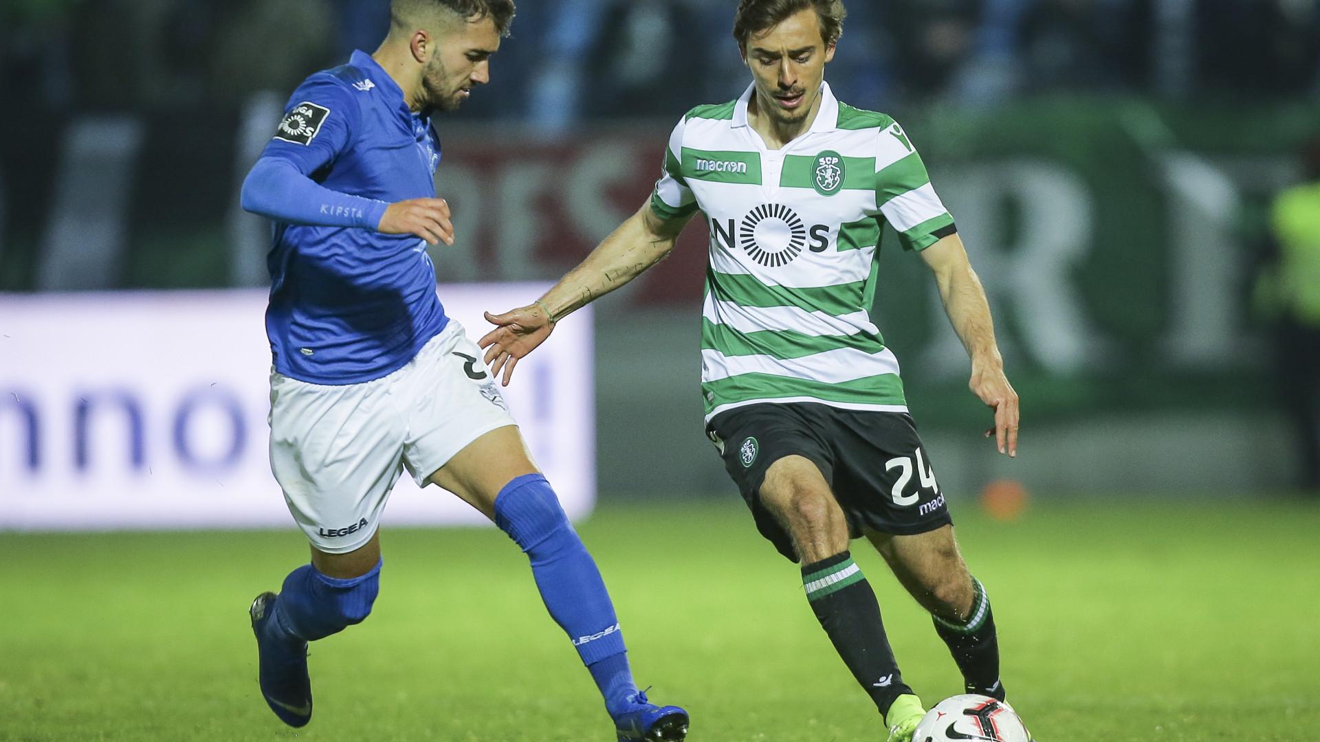 """Geraldes descreve Sporting como o seu """"Pilar"""" e leões respondem"""