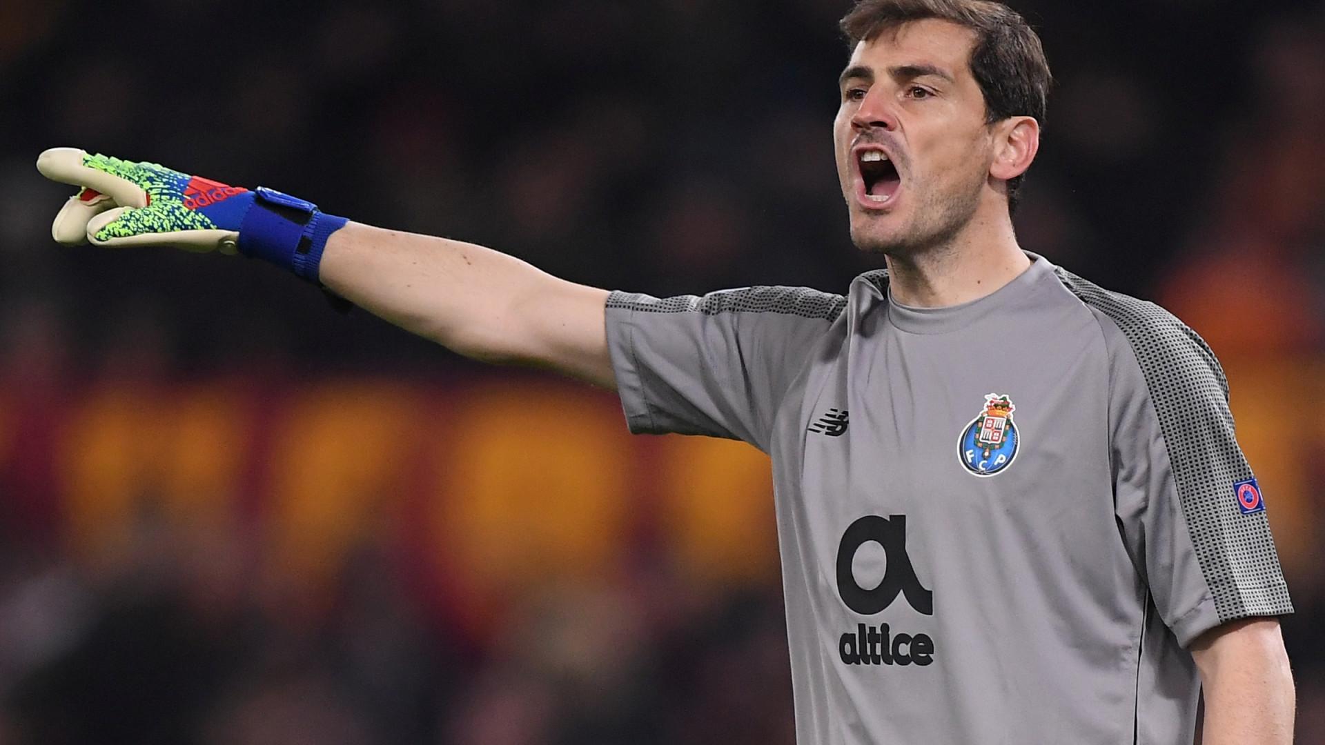 """Casillas: """"Fez-se justiça com o 2-1 e a eliminatória está em aberto"""""""
