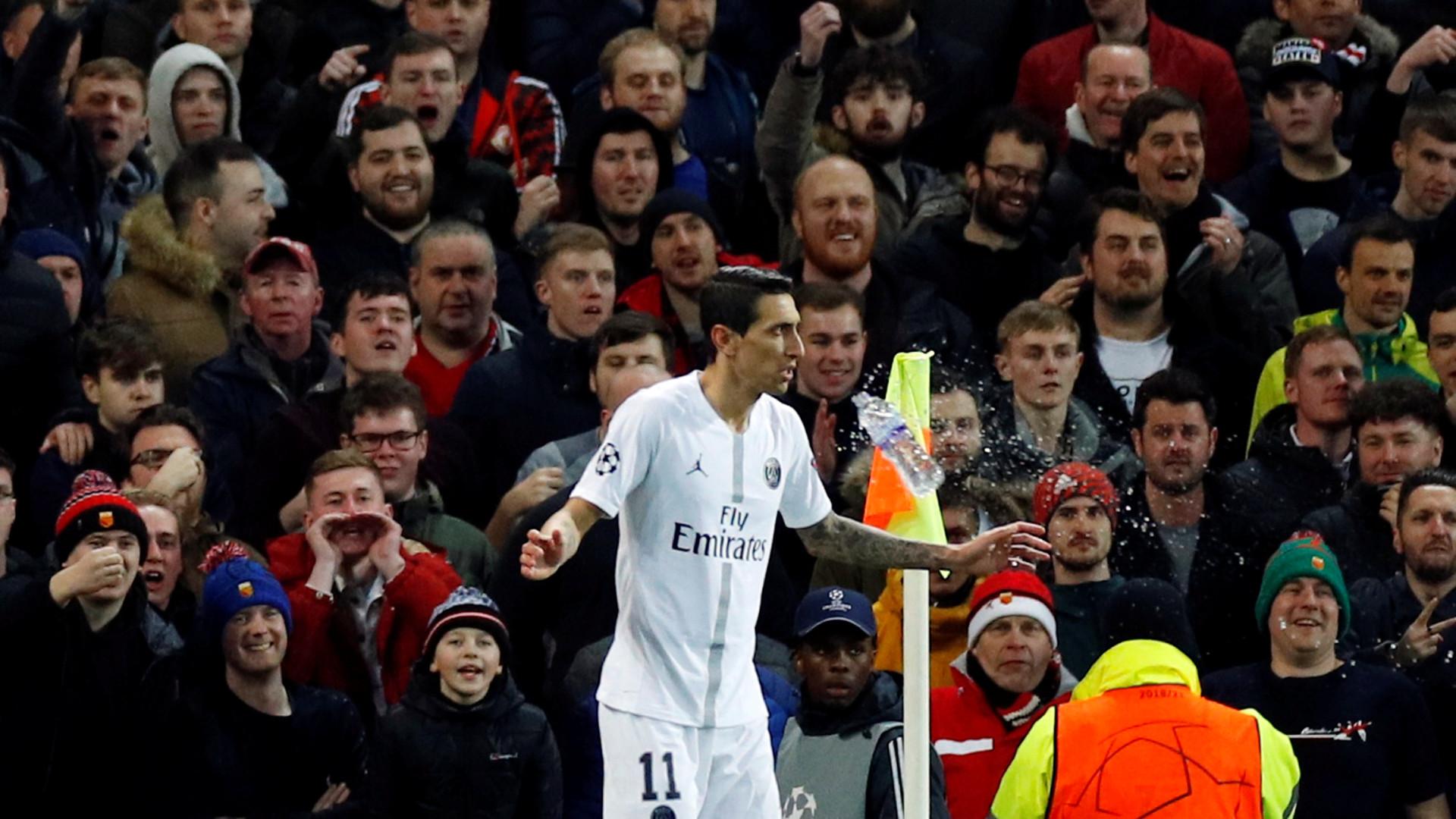 Di María regressou a Old Trafford e foram 90 minutos negros