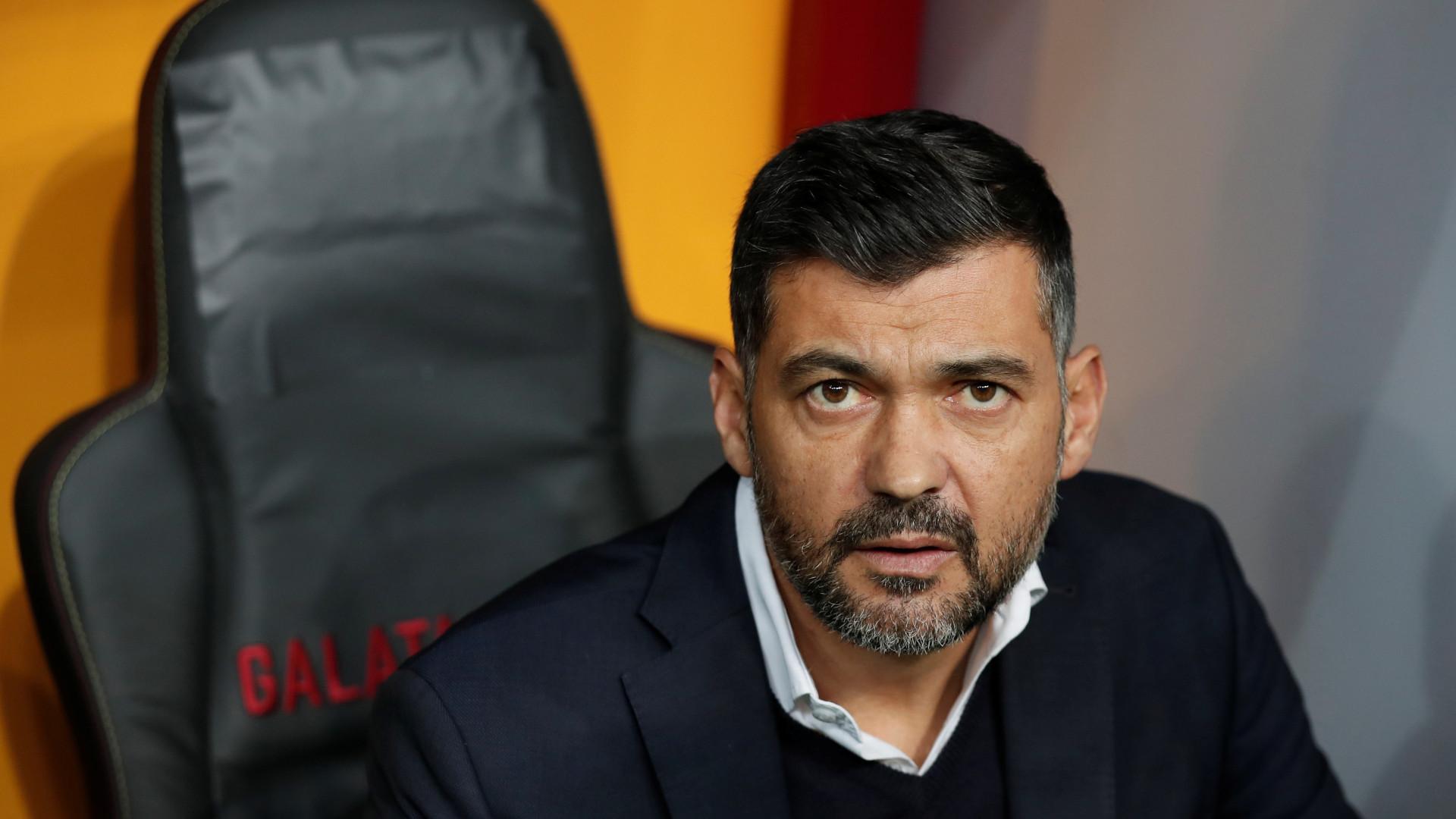Conceição revela teor da discussão com o treinador da AS Roma