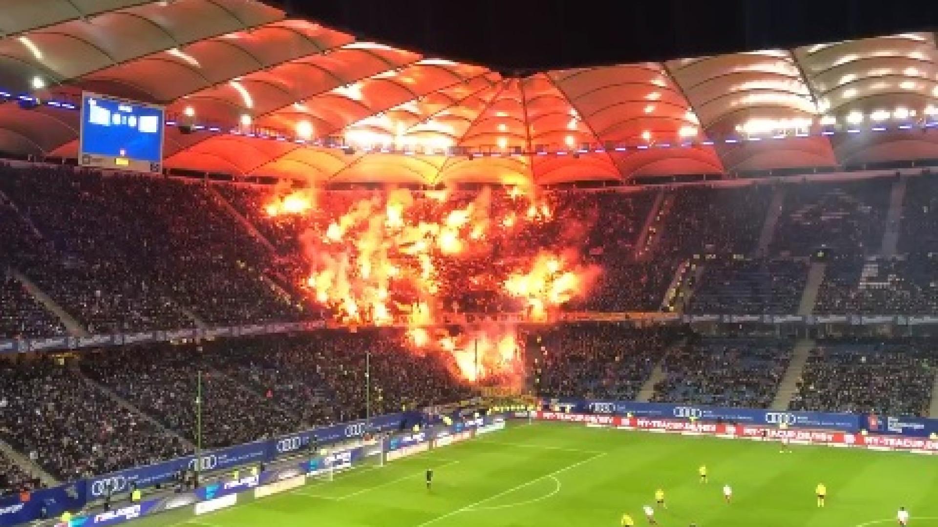 Quem disse que não há paixão na 2.ª Liga alemã numa segunda-feira?