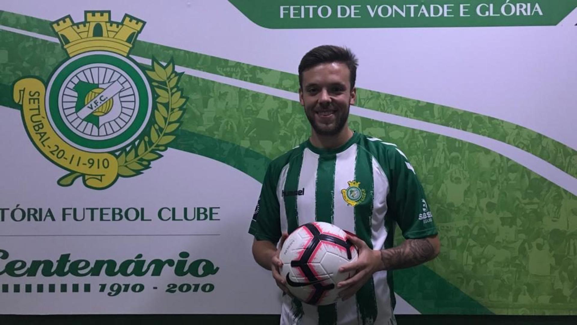 """Tiago Castro espera """"clique"""" do Vitória de Setúbal diante do FC Porto"""