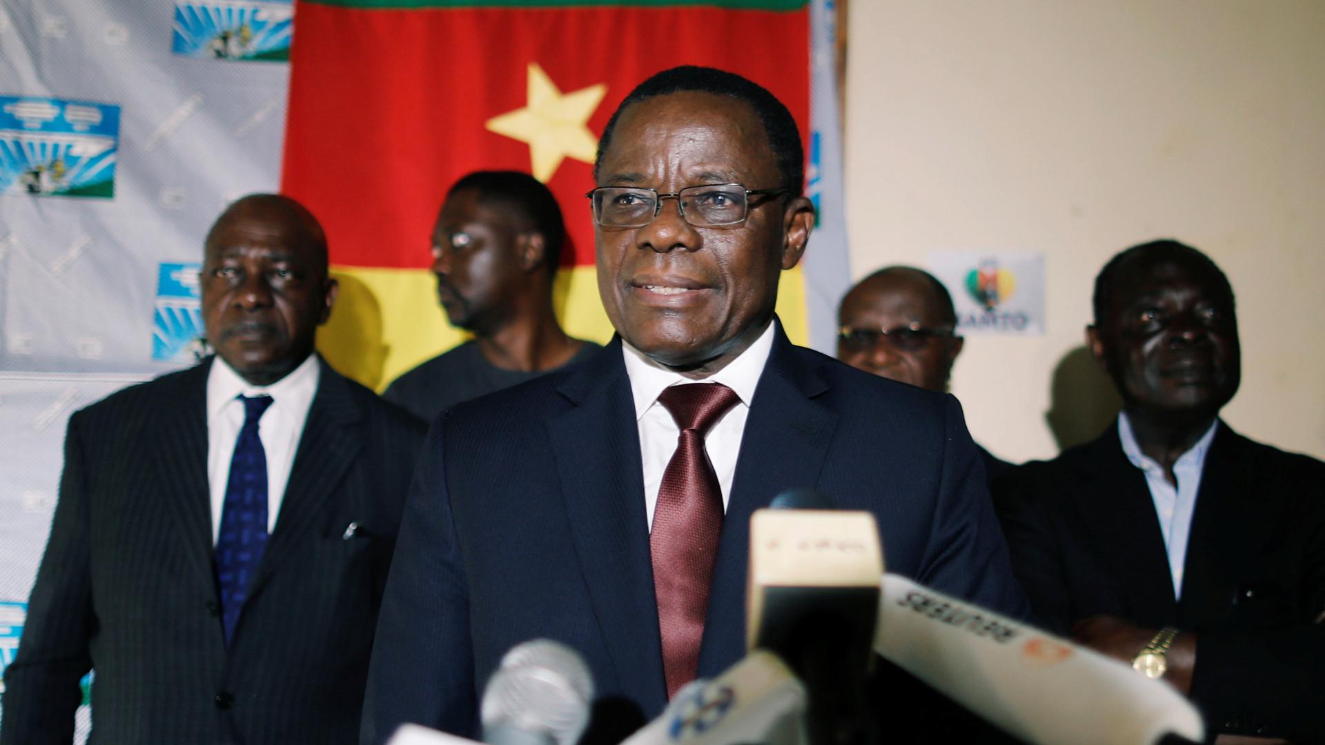 Líder da oposição nos Camarões acusado de insurreição