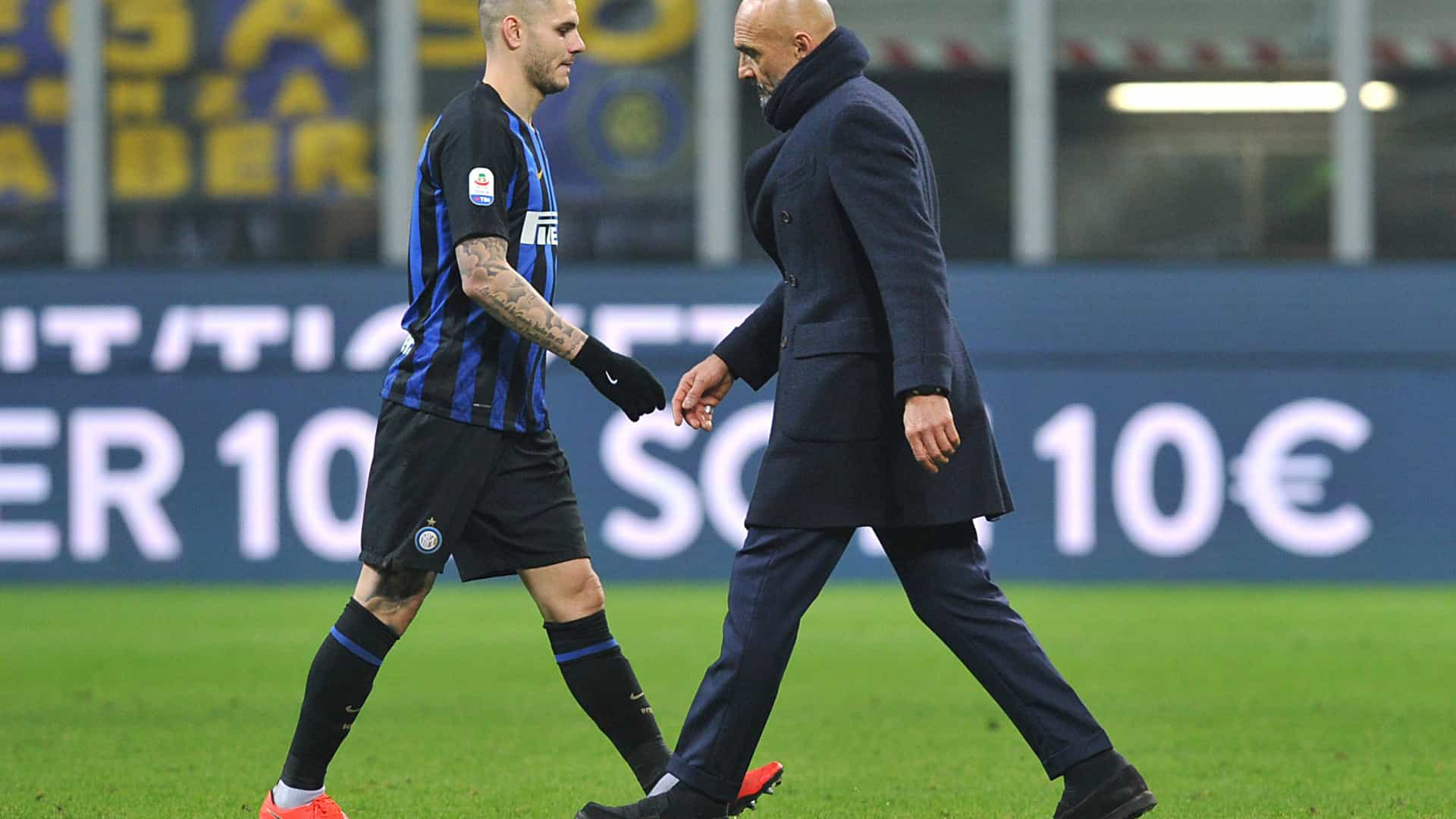 Sarilhos no Inter: Spalletti convoca Icardi, mas atleta recusa ir a Viena