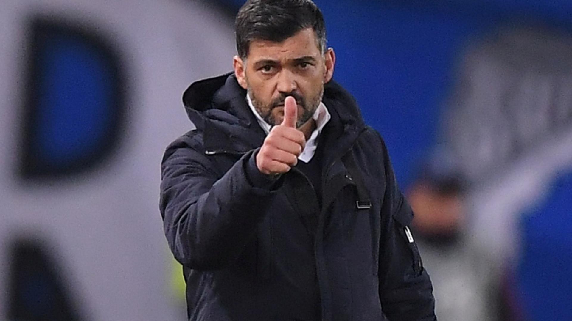 Sérgio Conceição deixou mensagem para os adeptos do FC Porto