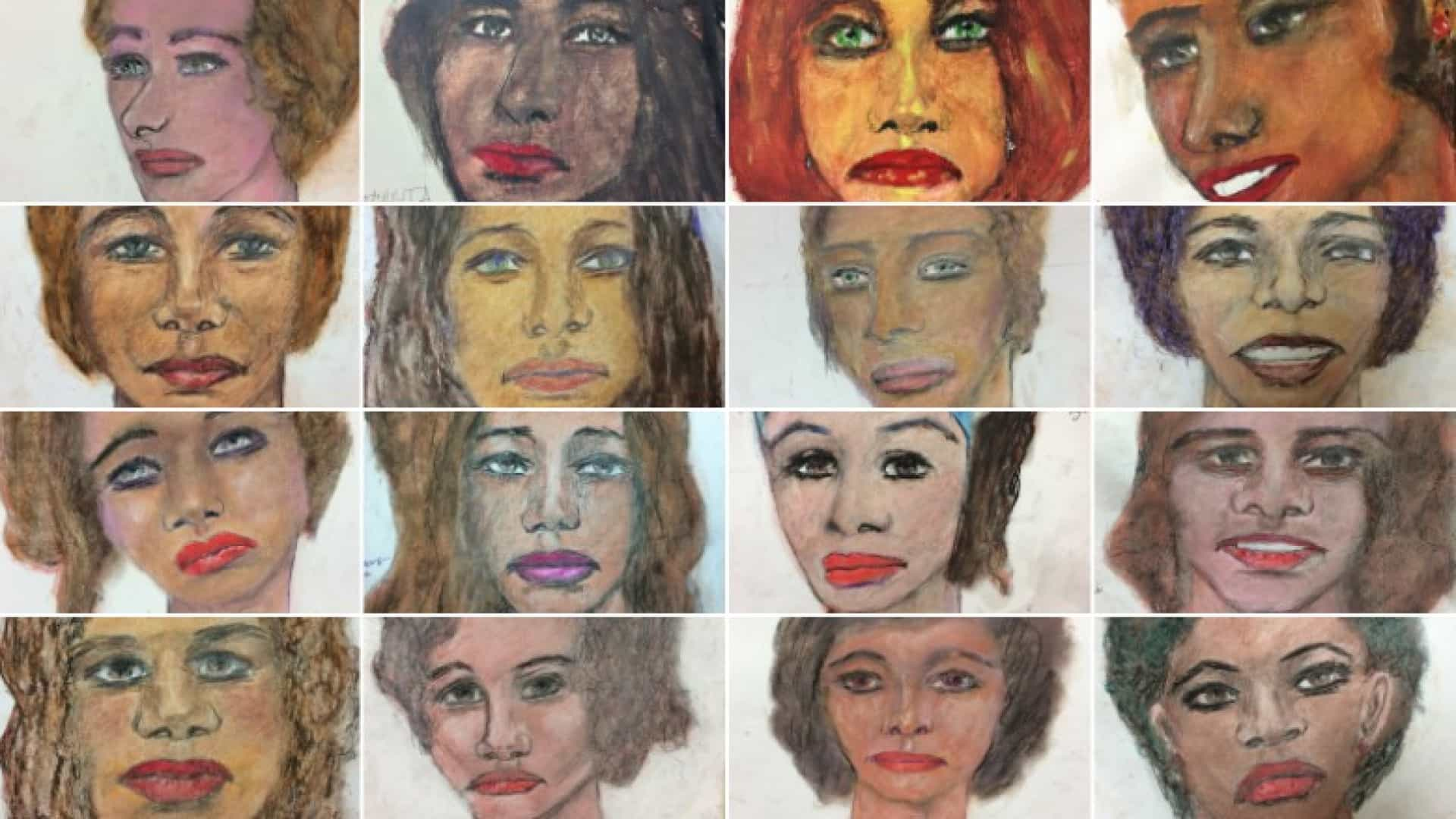 Serial killer desenhou vítimas. FBI usa imagens para identificá-las