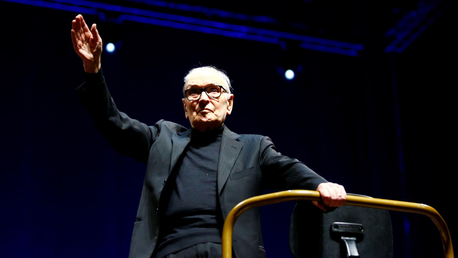 Ennio Morricone atua em Lisboa no dia 6 de maio