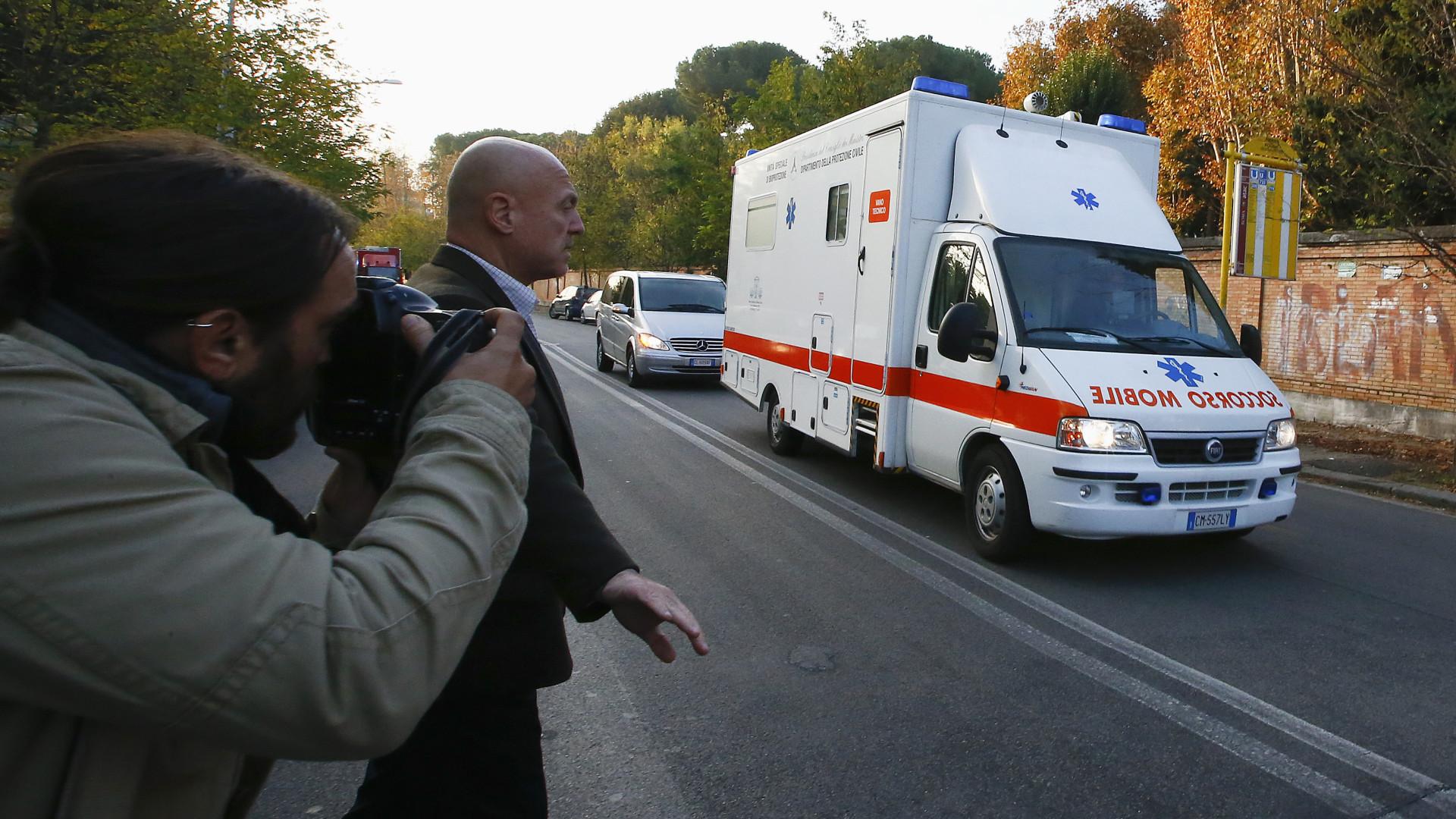 Lazio-Sevilla manchado de sangue: Quatro feridos, um em estado grave