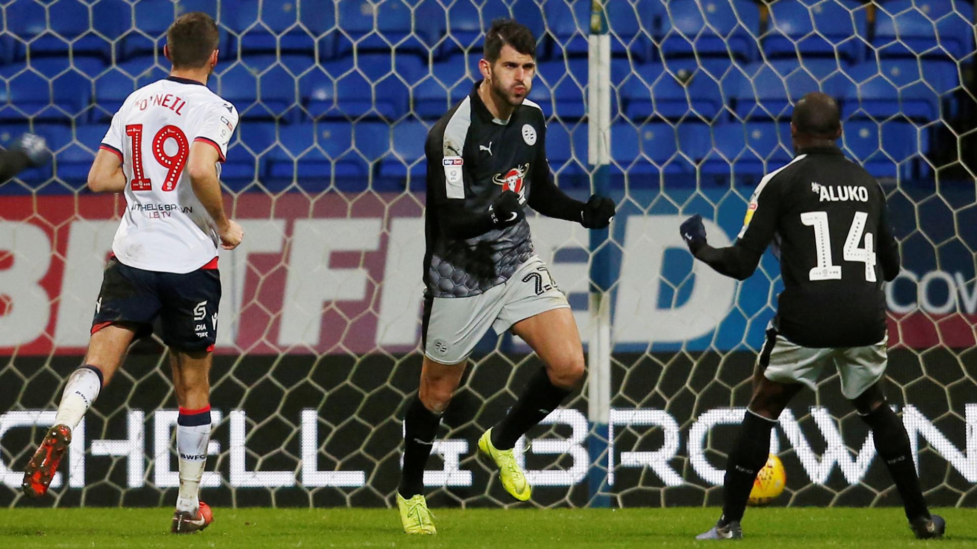 Nelson Oliveira marca golo da vitória do Reading de José Gomes