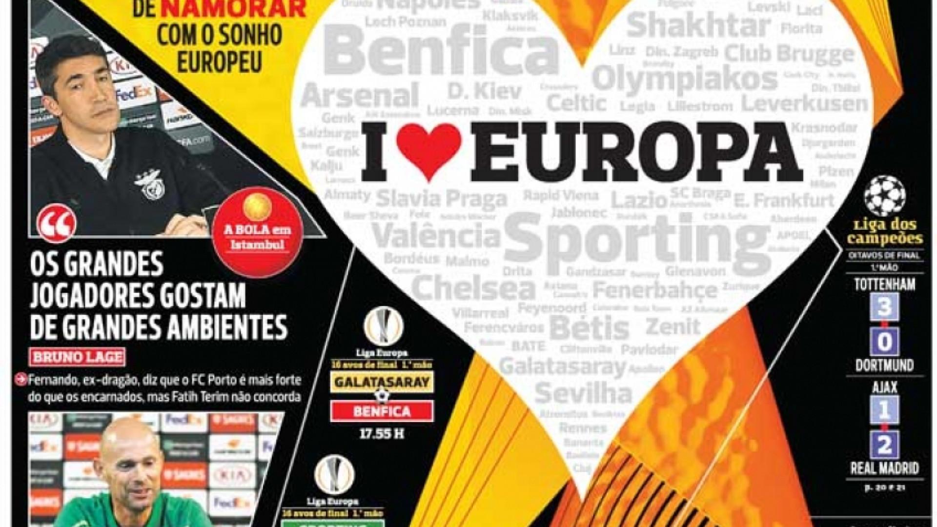 Por cá: A hora europeia dos velhos rivais e a receita de Danilo
