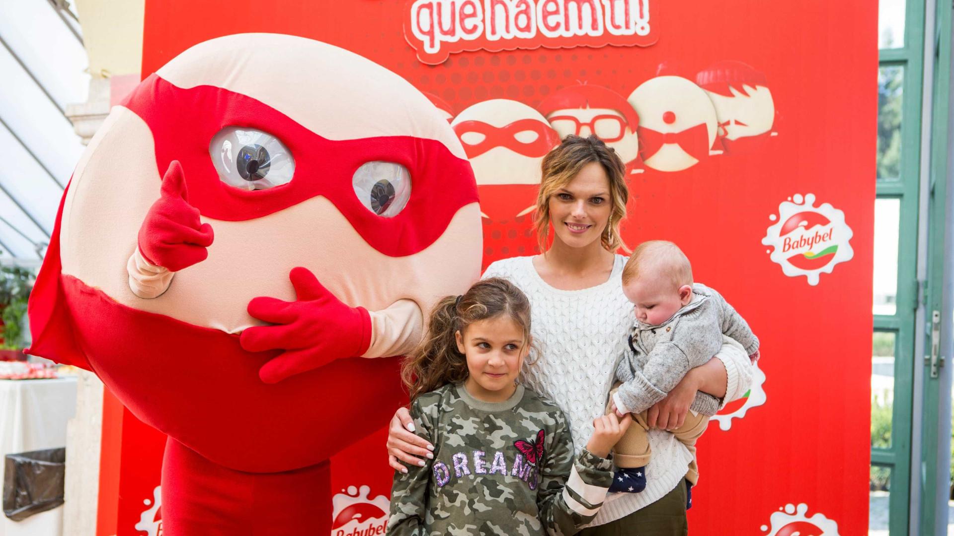 Babybel reúne famosos e as suas famílias em manhã divertida