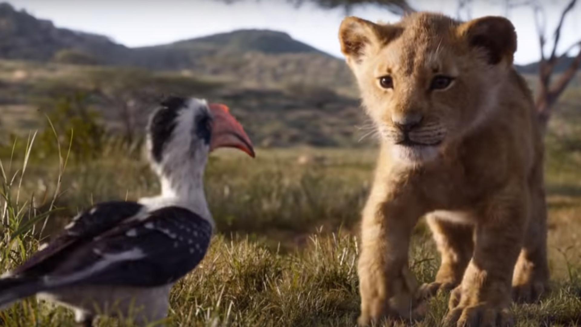 Filme 'O Rei Leão' tem novo trailer. Curioso?