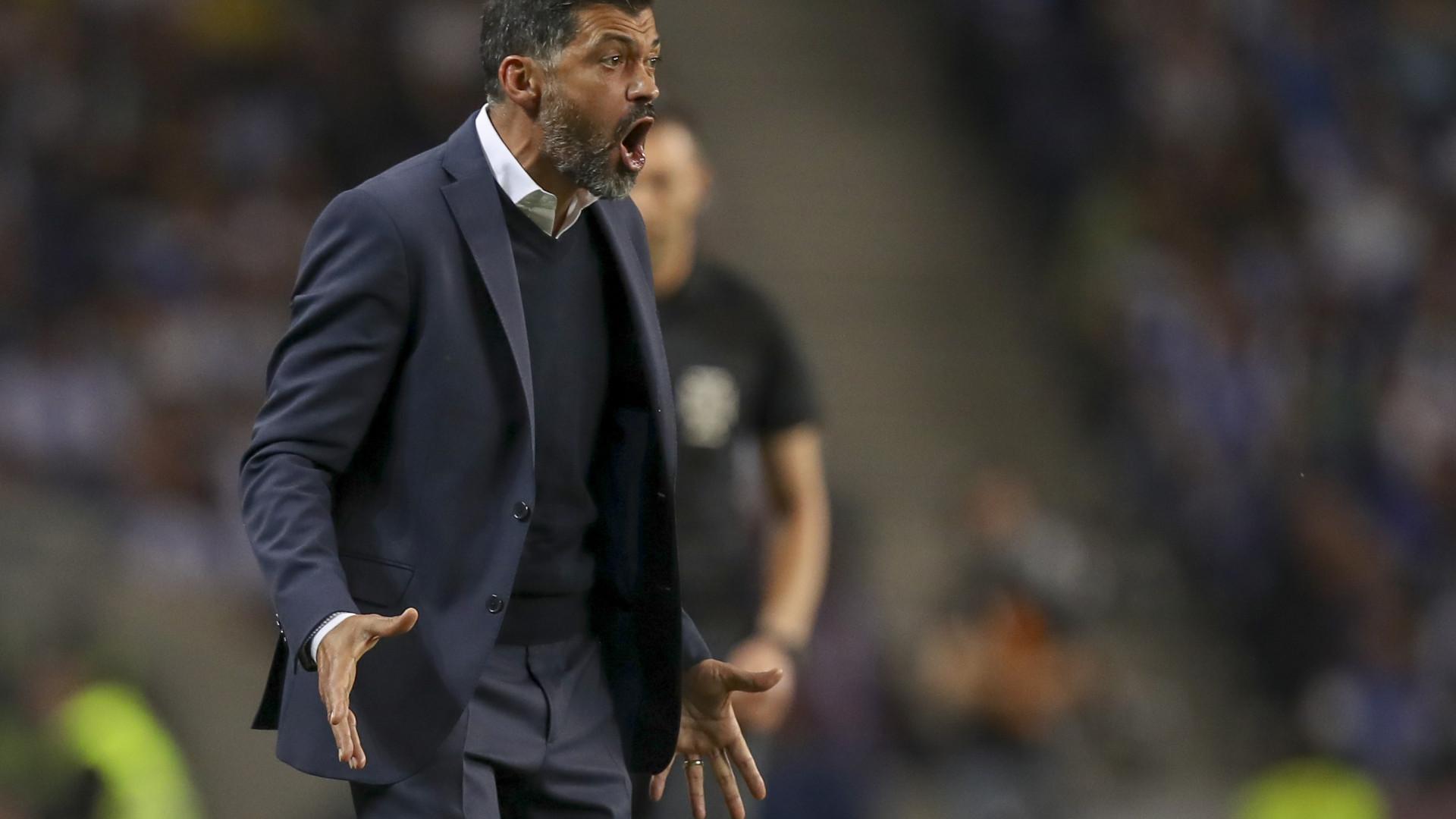 Sérgio Conceição elogia Santa Clara e explica ausência de Pepe