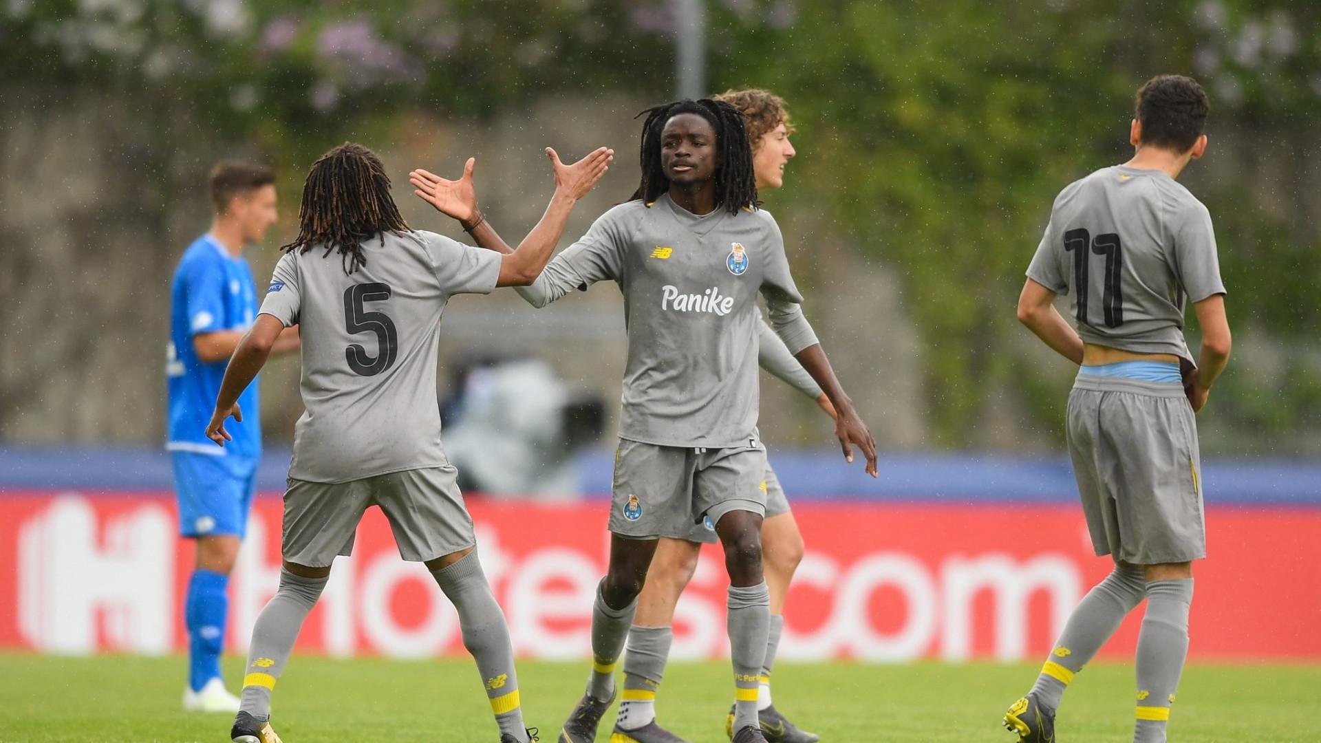 FC Porto 'despacha' Hoffenheim e garante lugar na final da Youth League