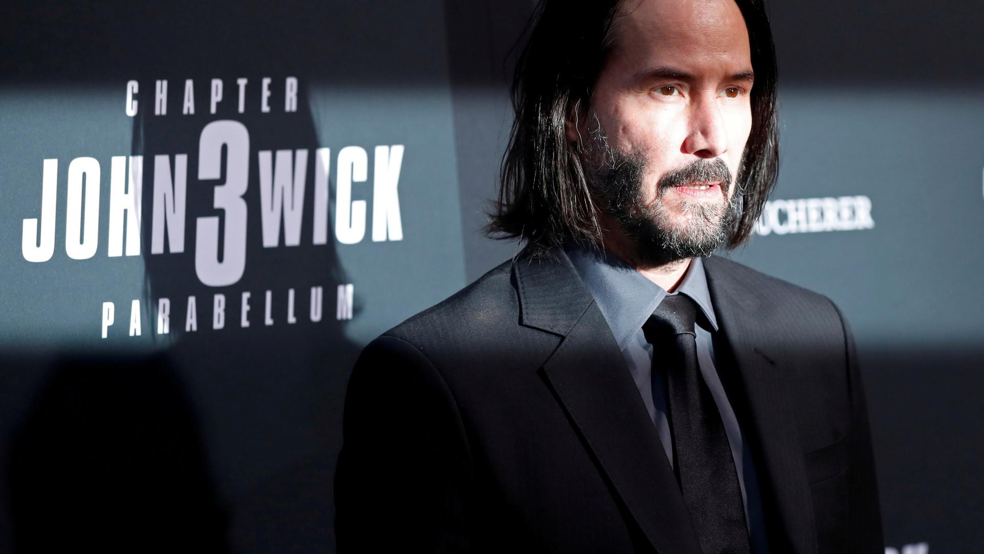 'Implacável', John Wick regressa e toma conta da liderança do box-office