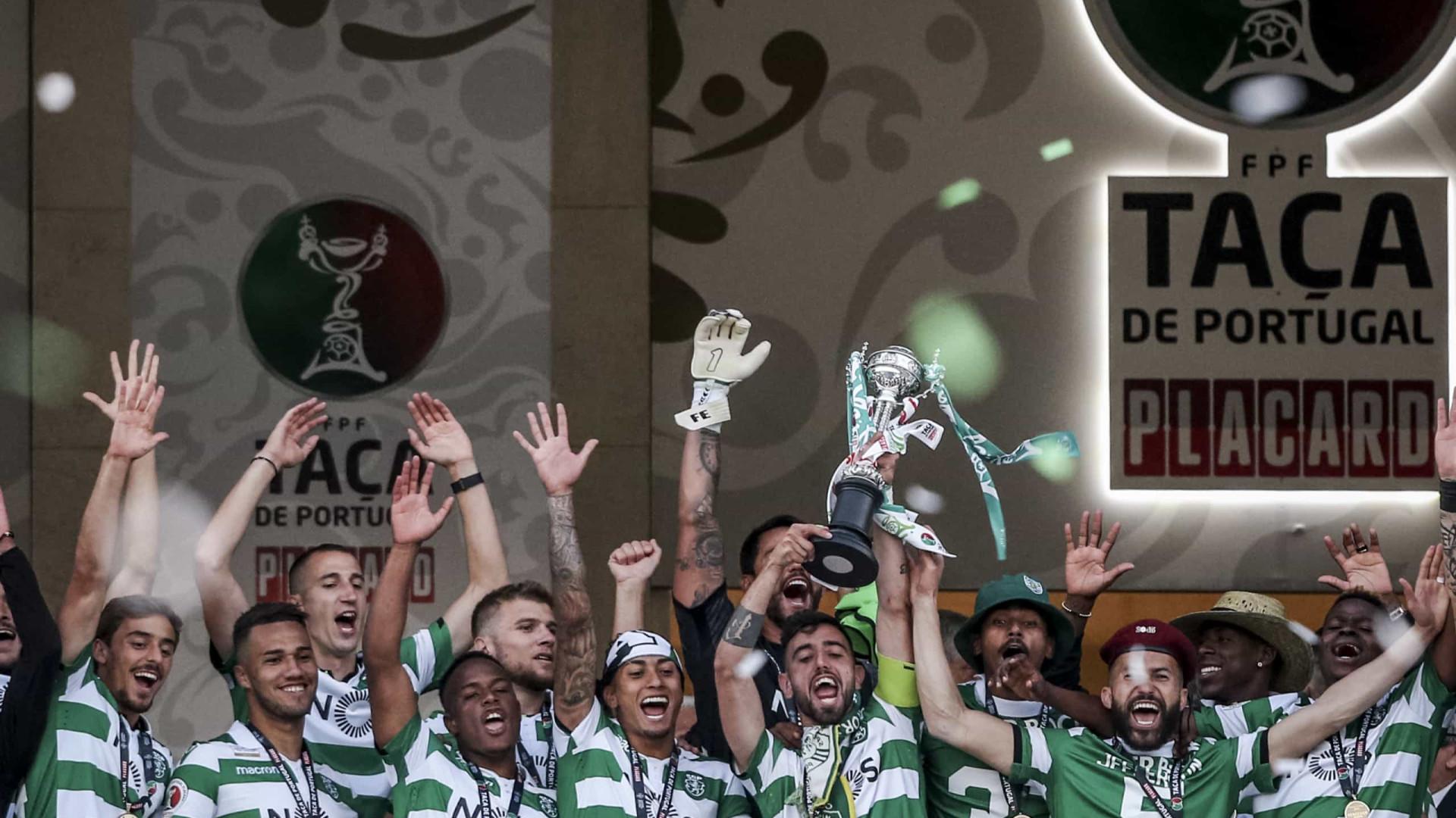 Sporting vence nos penáltis e conquista a Taça de Portugal